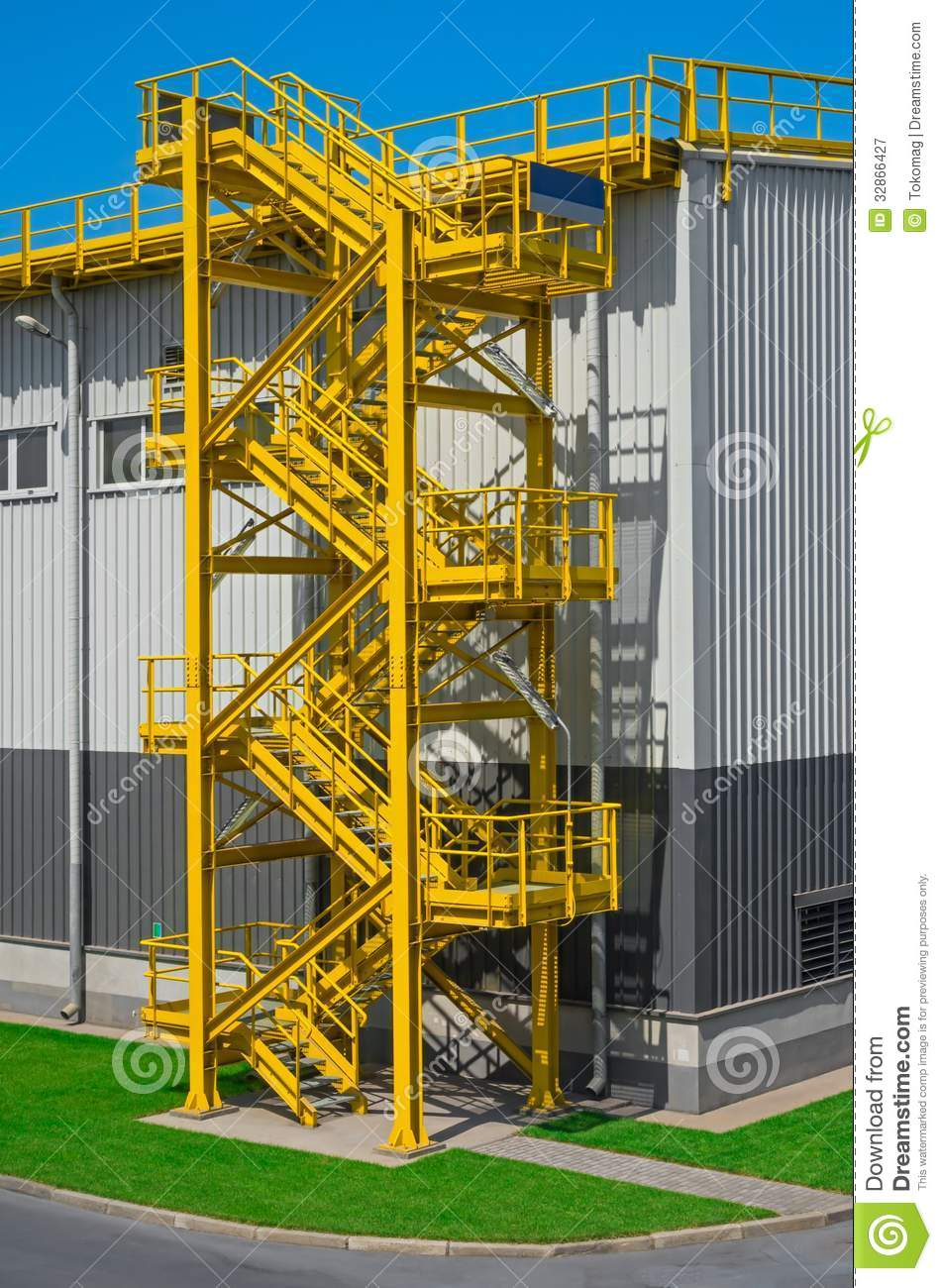 Industrial Stairs Royalty Free Stock Photography Image