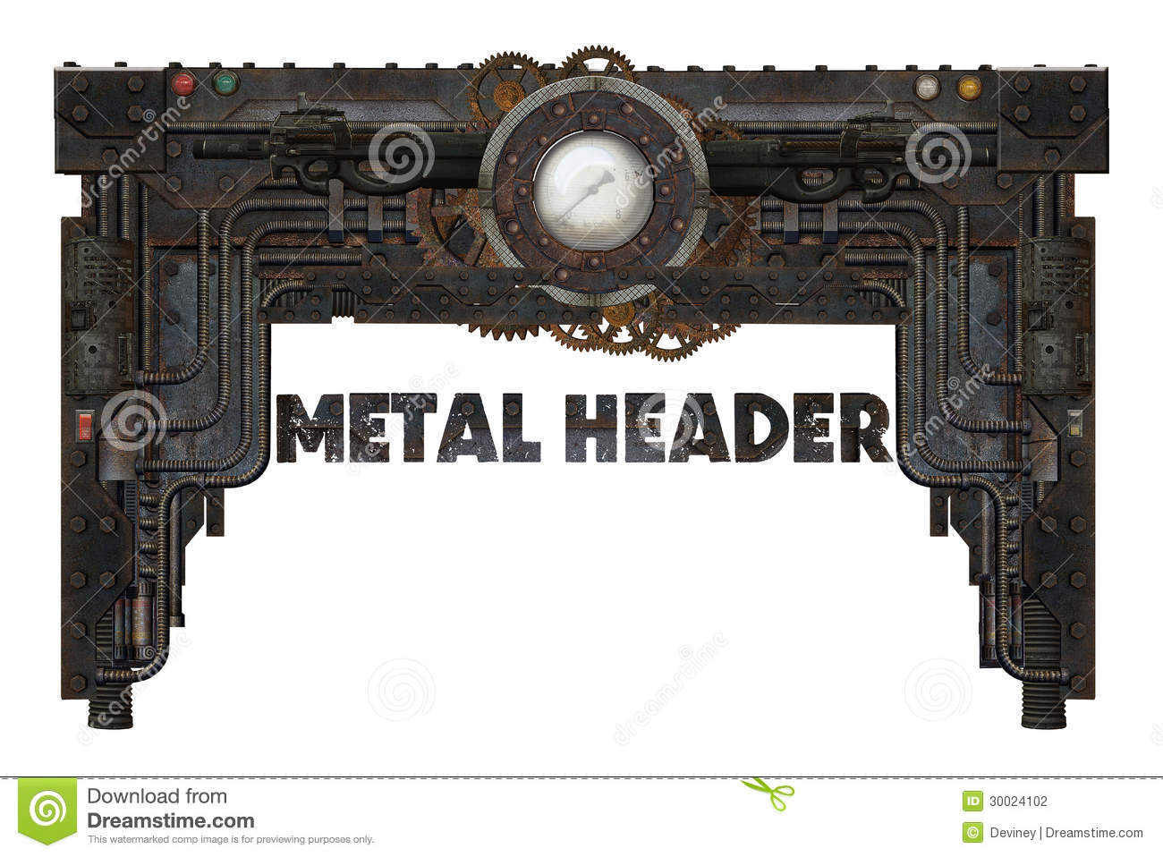 metal frame stock photography