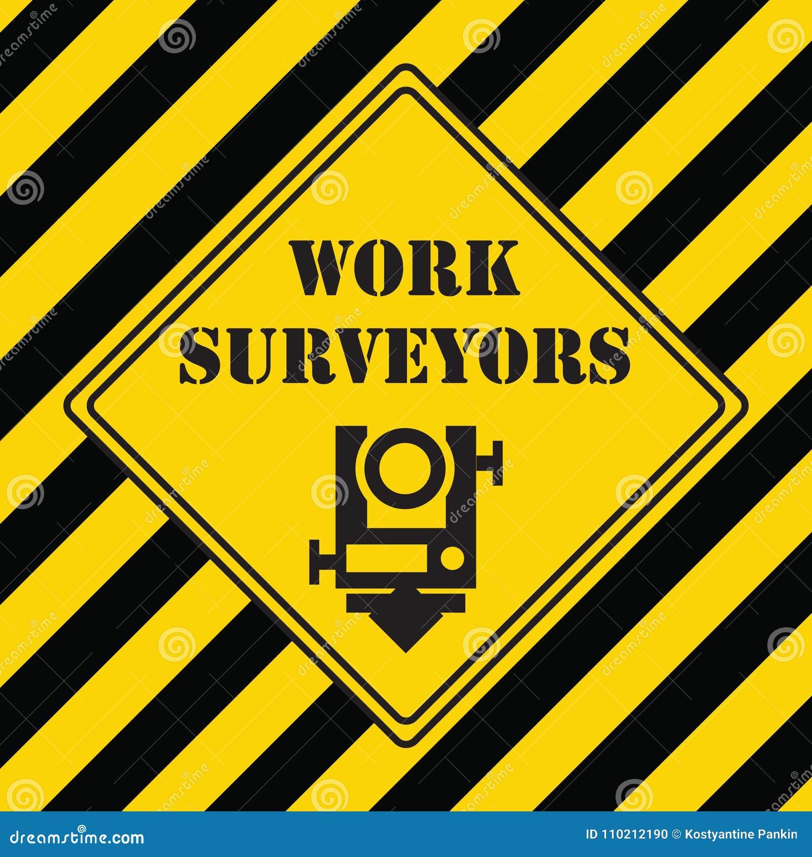 Industrial Symbol For Surveying Stock Vector Illustration Of Range