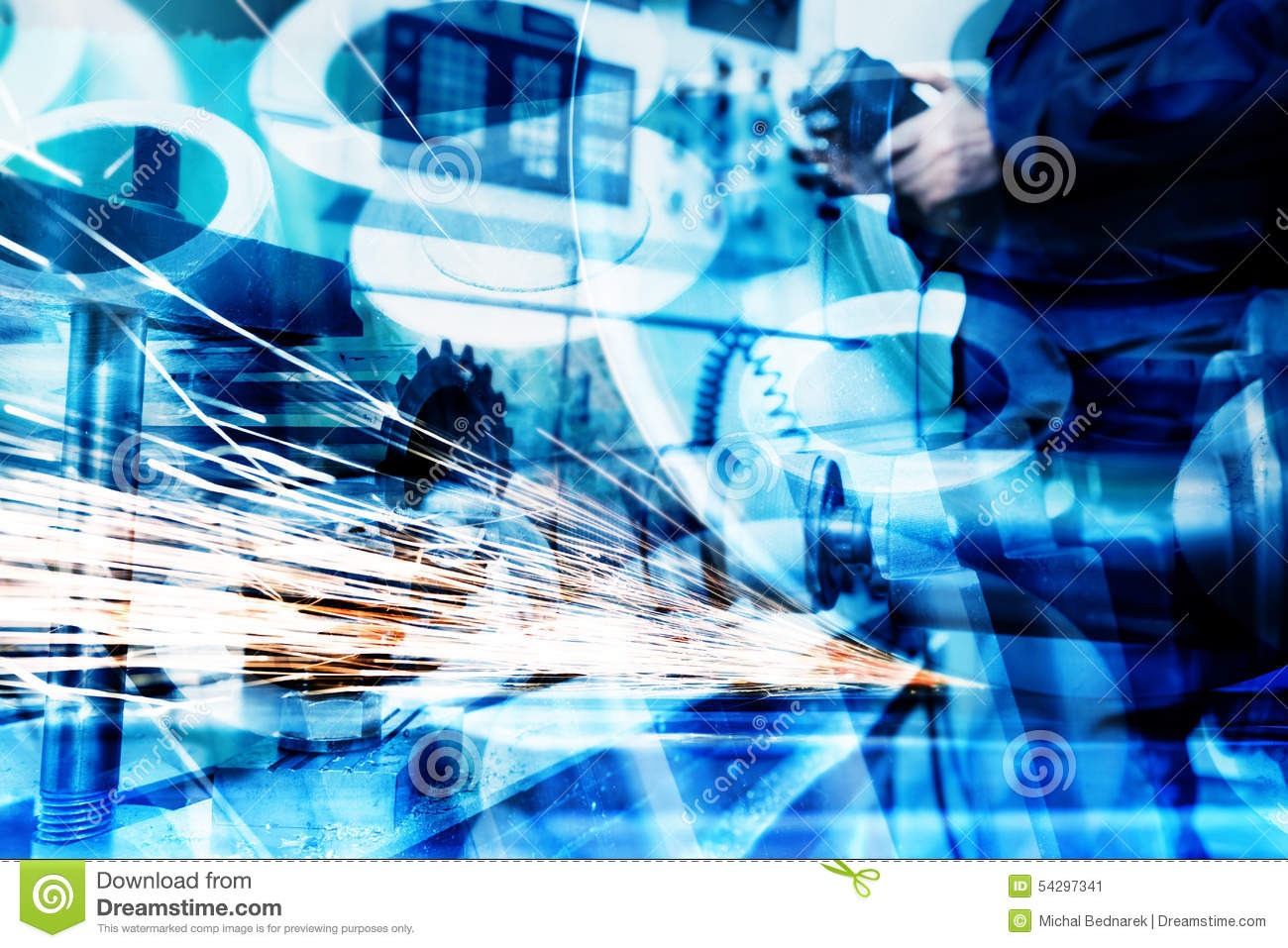 Industrial Technology Background Royalty Free Stock Photos - Image ...