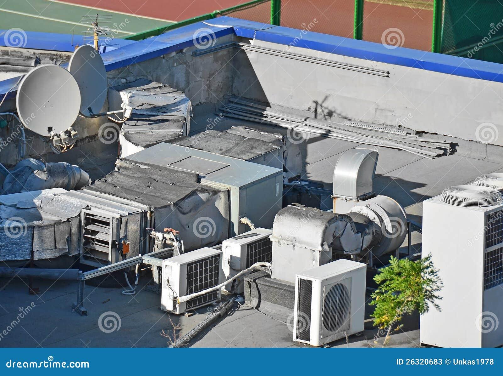 Industrial Air Ventilator : Industrial ventilation system stock photos image