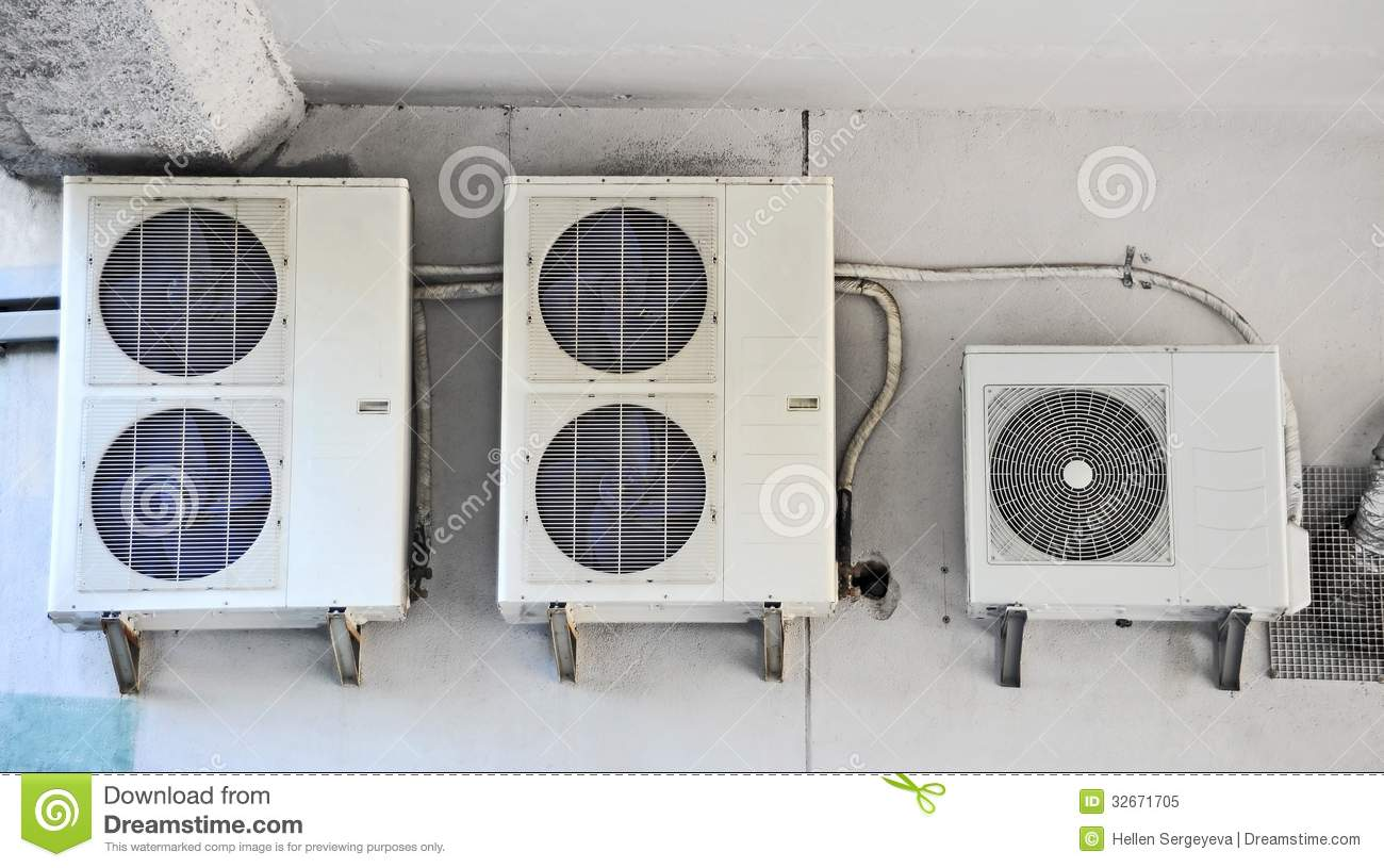 Industrial Ventilation System Royalty Free Stock Photo Image  #3A7191