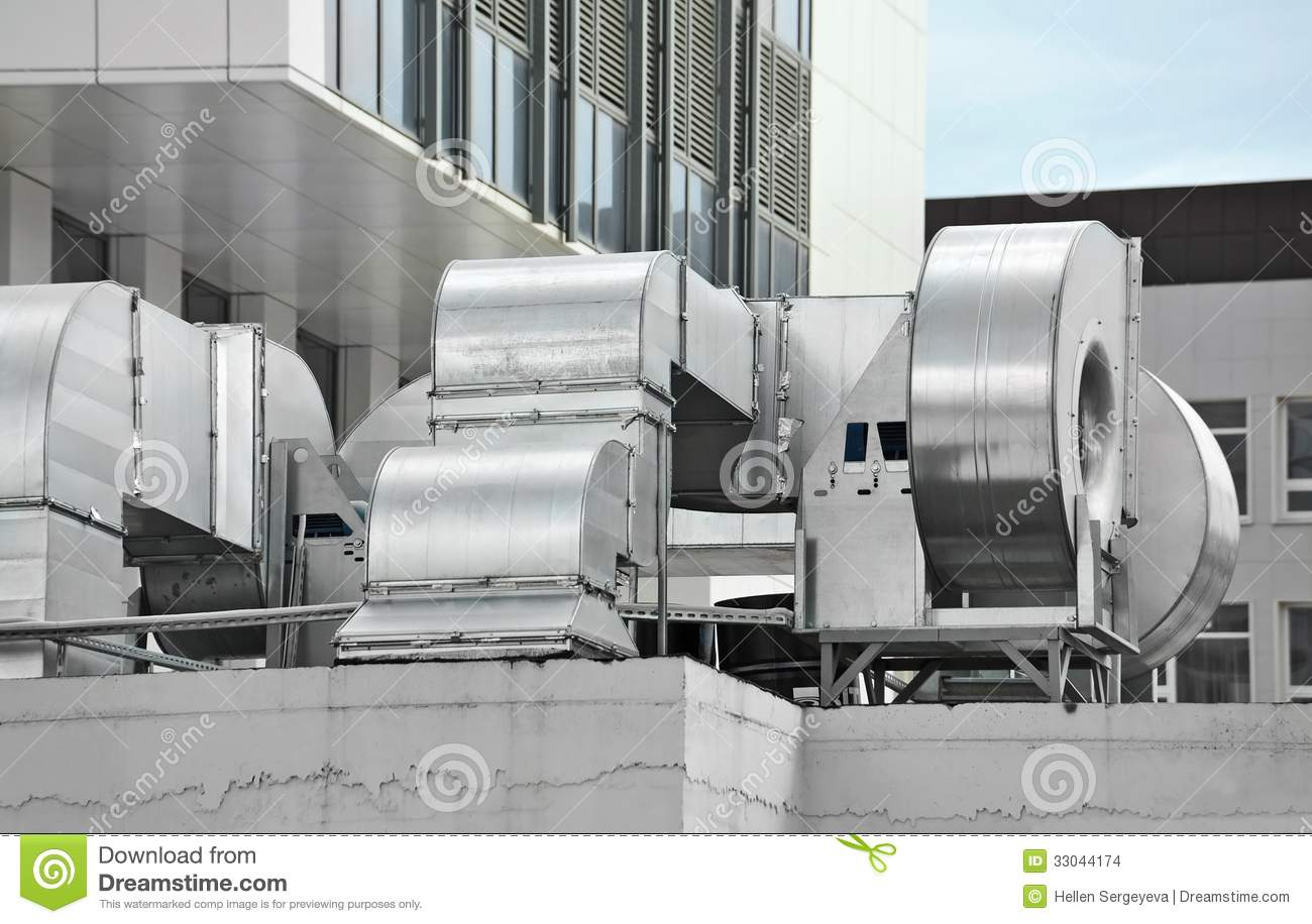 Commercial Ventilation Systems : Industrial ventilation system stock images image