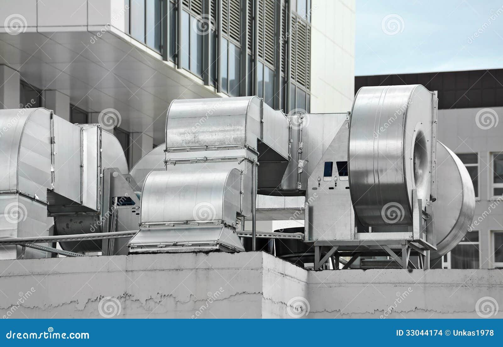 Industrial Air Ventilator : Industrial ventilation system stock images image