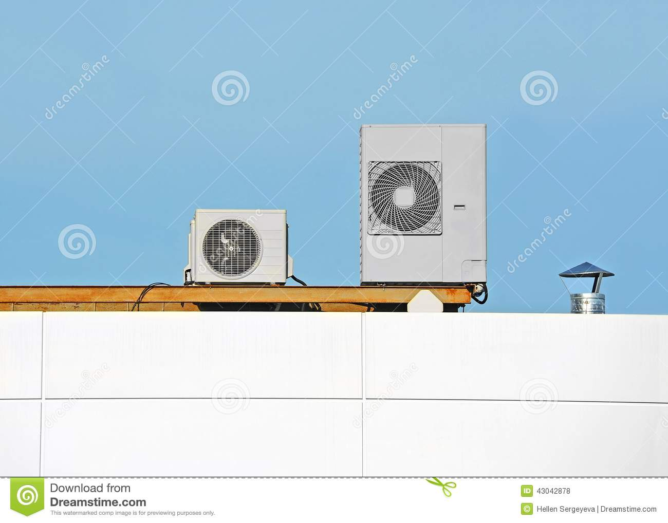industrial ventilation system air conditioning systems roof 43042878  #A26D29
