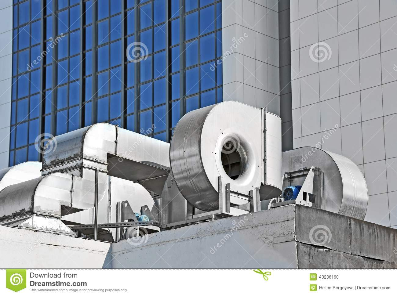 Industrial Ventilation System Stock Photo Image: 43236160 #81A229