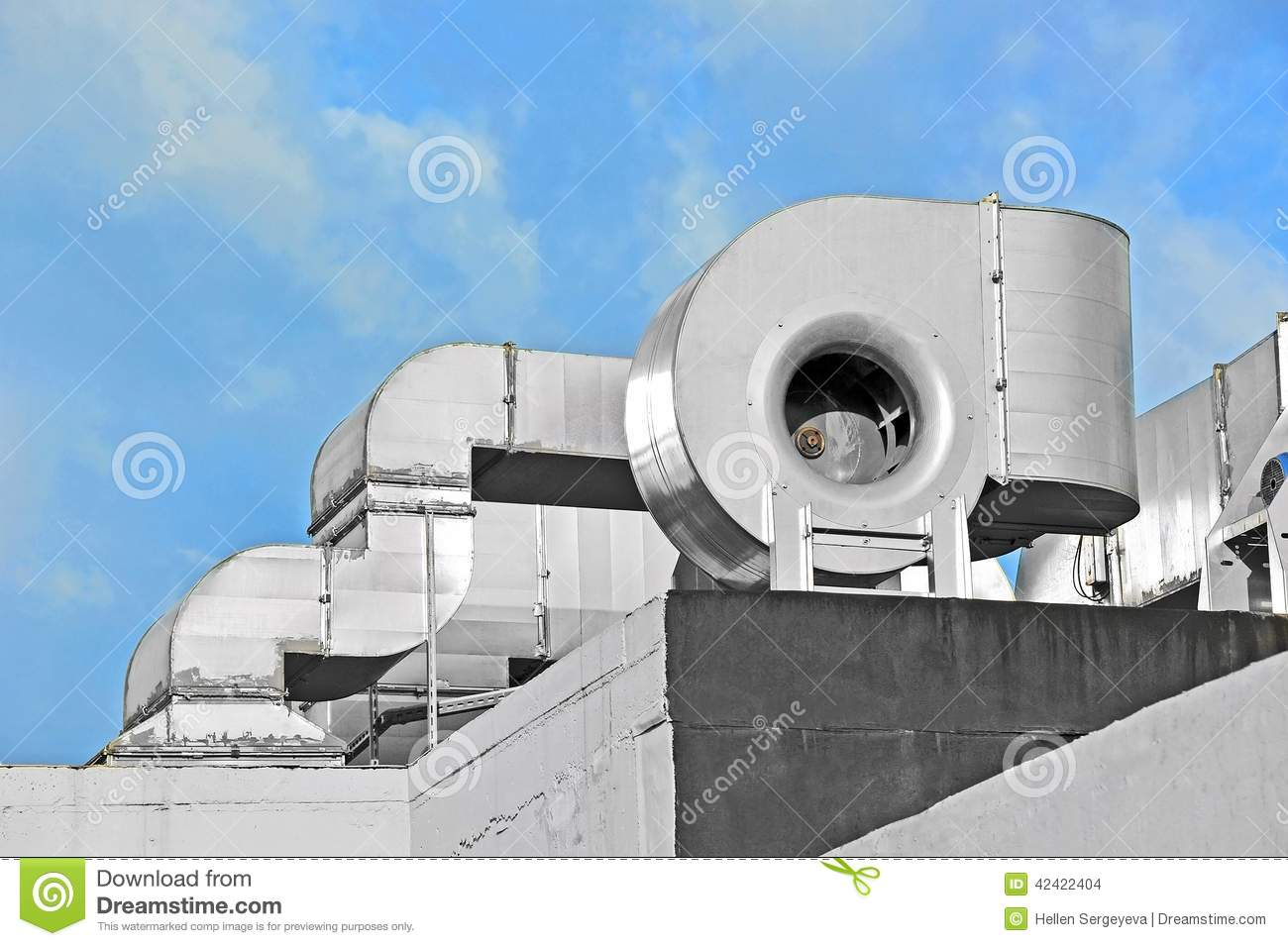 Industrial Ventilation System Stock Photo Image: 42422404 #86A724