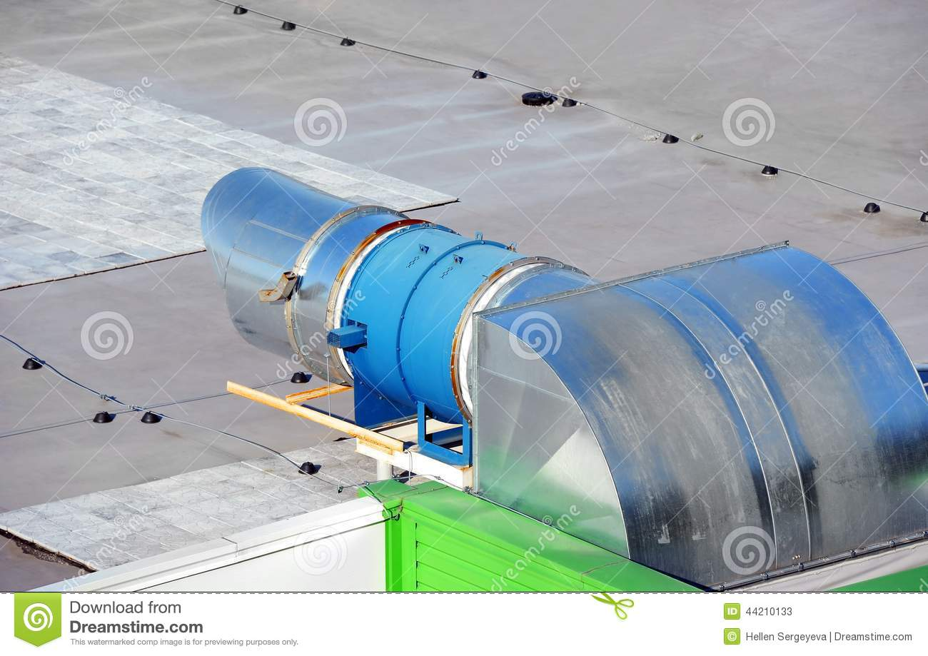 Industrial Ventilation System Stock Photo Image: 44210133 #4AAD1E