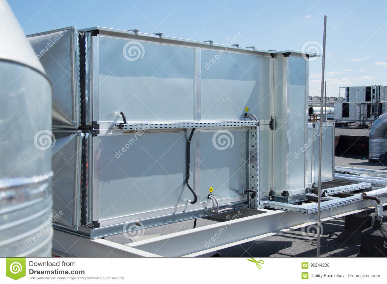 Central Ventilation System : Industrial ventilation unit for the central