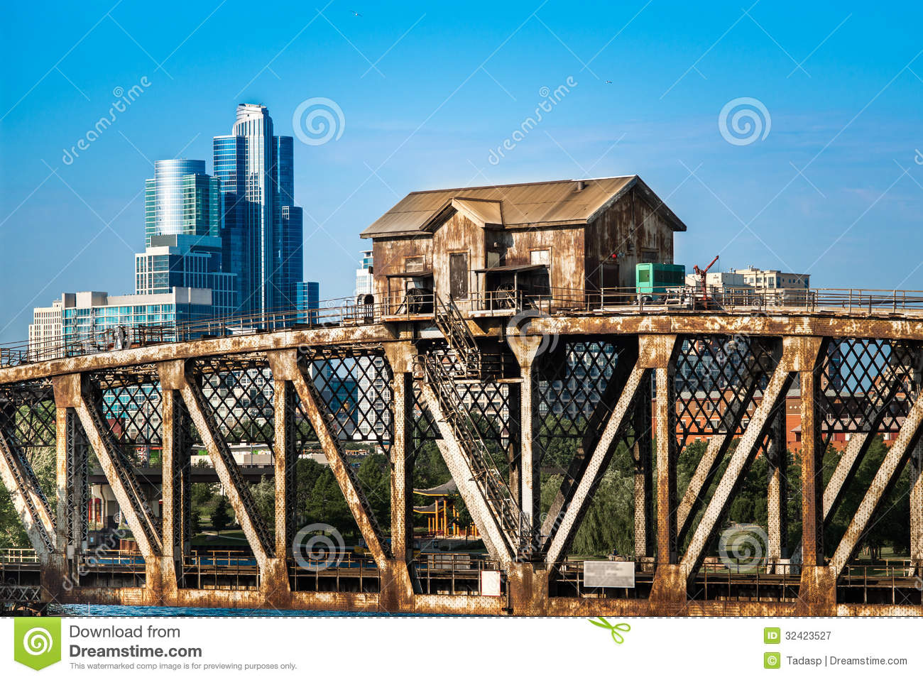 Industrial vs modern royalty free stock photography for Different building styles
