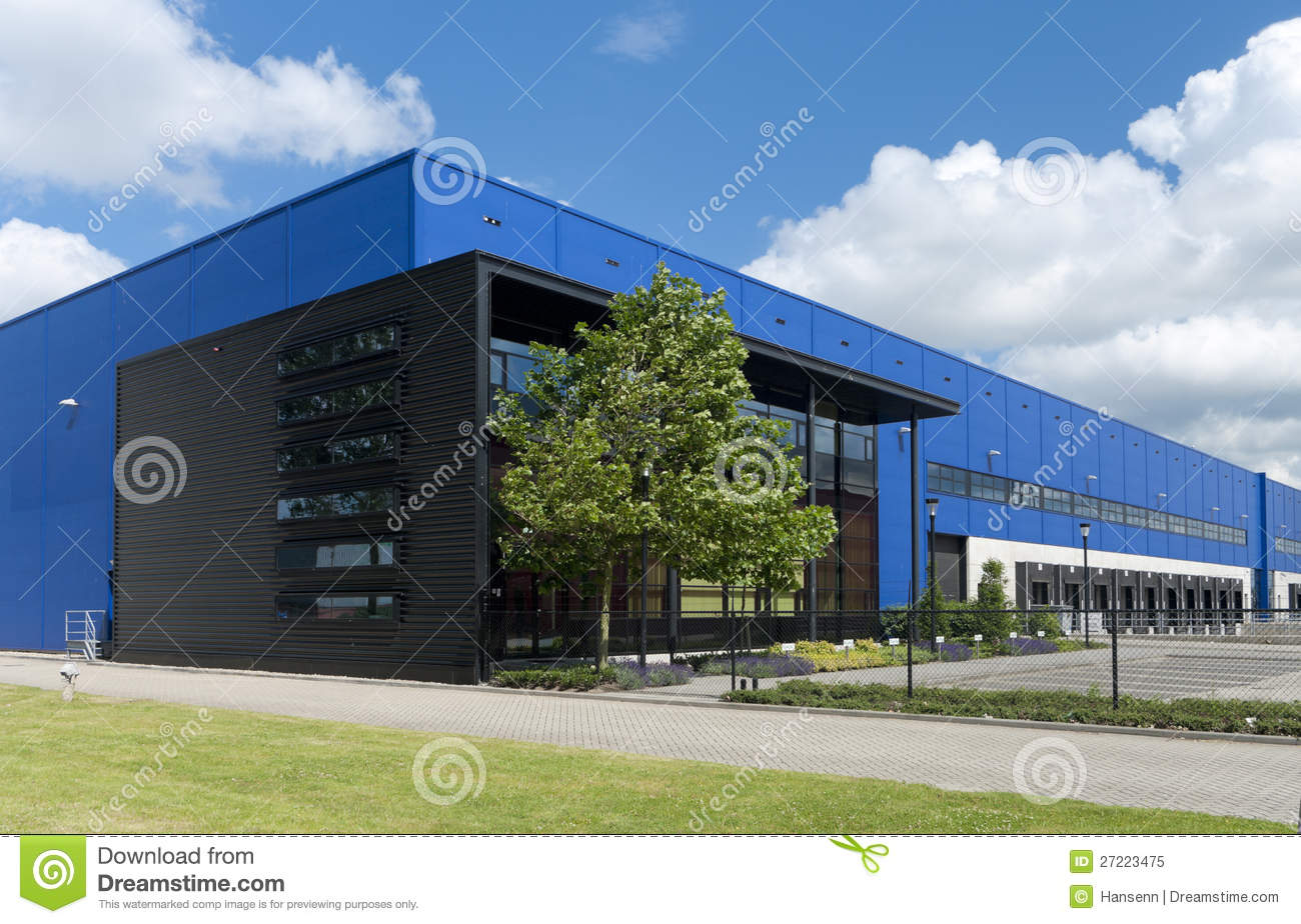 Industrial Warehouse Royalty Free Stock Photo Image