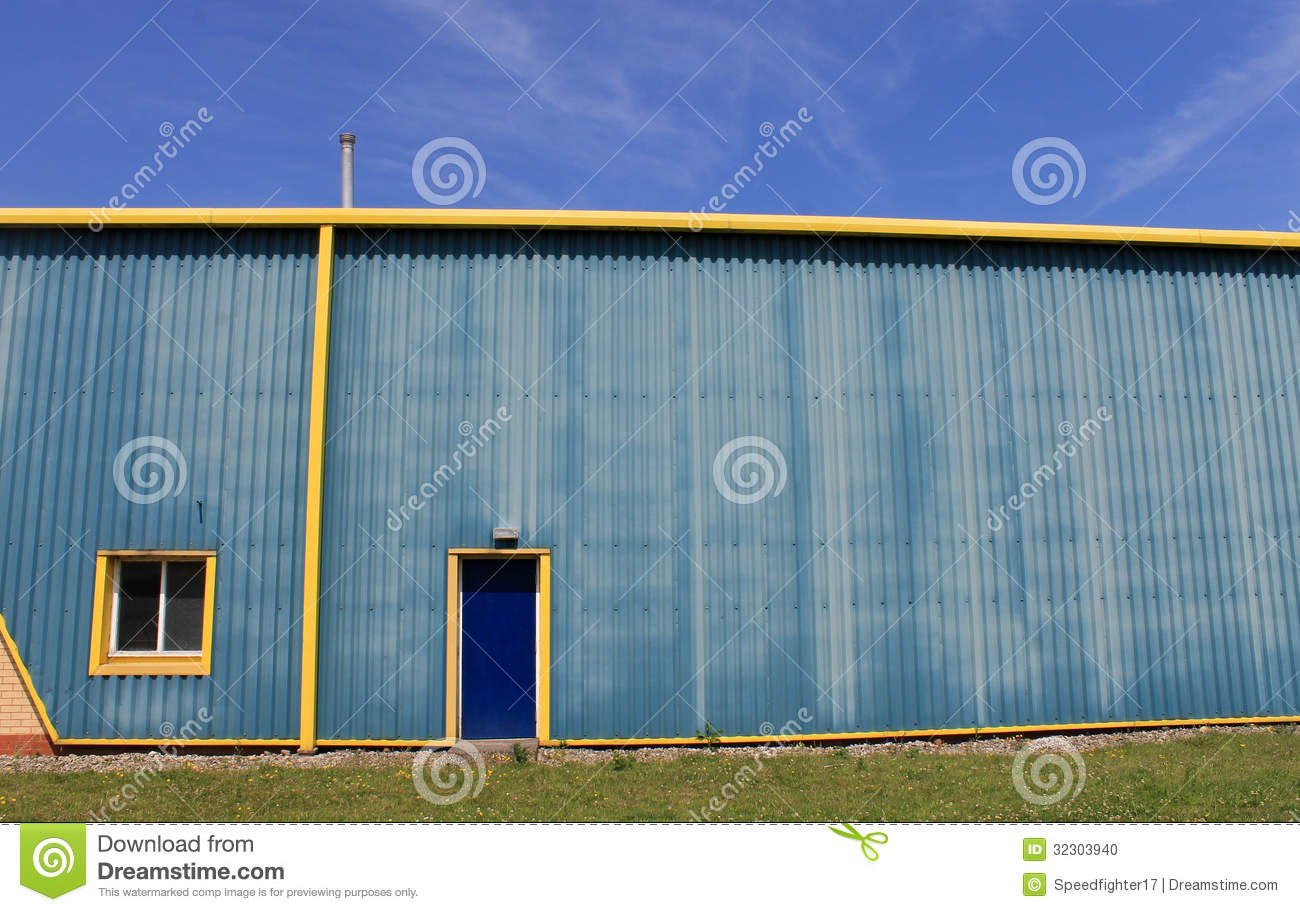 Industrial Warehouse Building Stock Photo Image 32303940