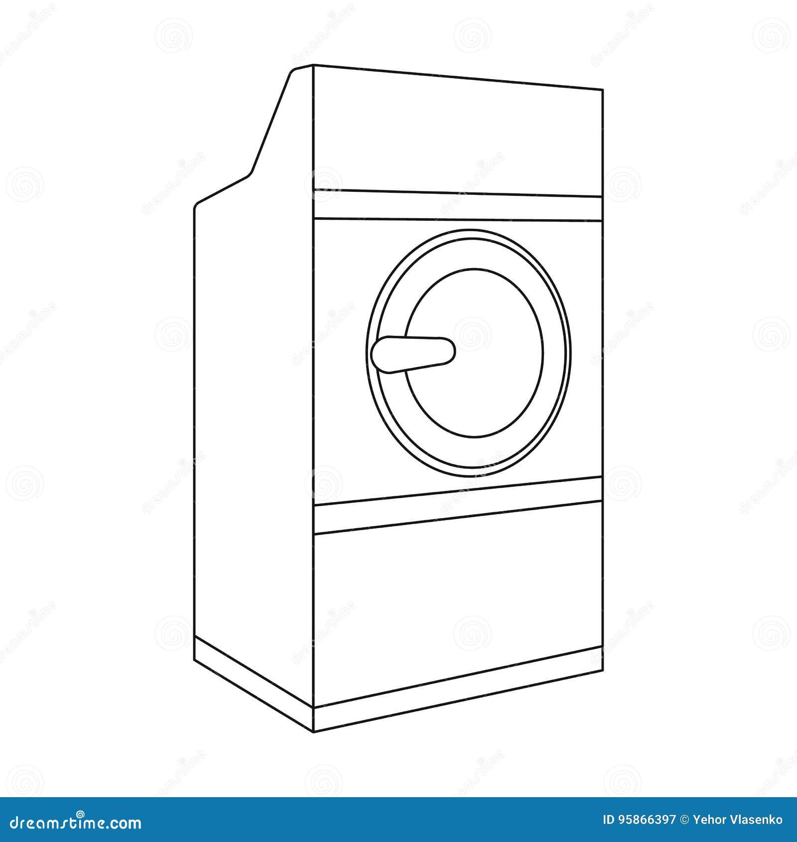 Industrial washing machine dry cleaning single icon in black dry cleaning single icon in black style vector symbol stock illustration web buycottarizona Choice Image