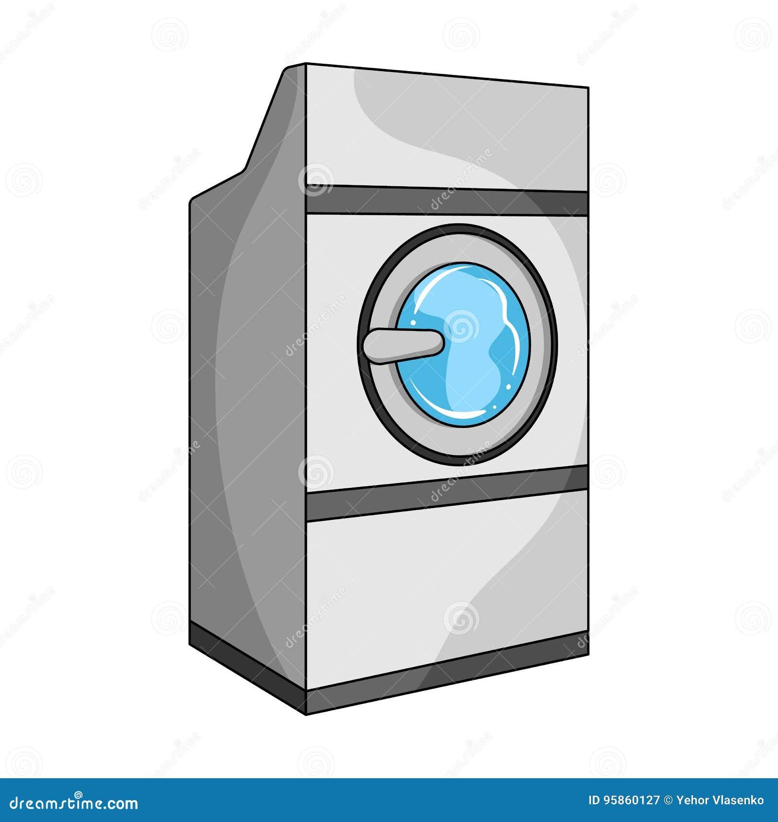 Industrial washing machine dry cleaning single icon in cartoon dry cleaning single icon in cartoon style vector symbol stock illustration web buycottarizona Choice Image