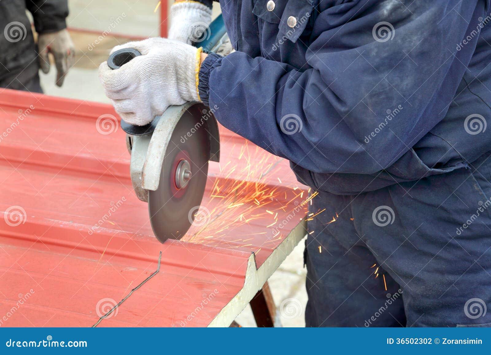 Industrie, chantier de construction