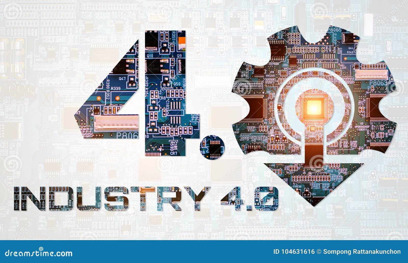 Download Industrie 4 0 Conceptenbeeld Industriële Instrumenten In De Fabriek Stock Illustratie - Illustratie bestaande uit hand, wapen: 104631616