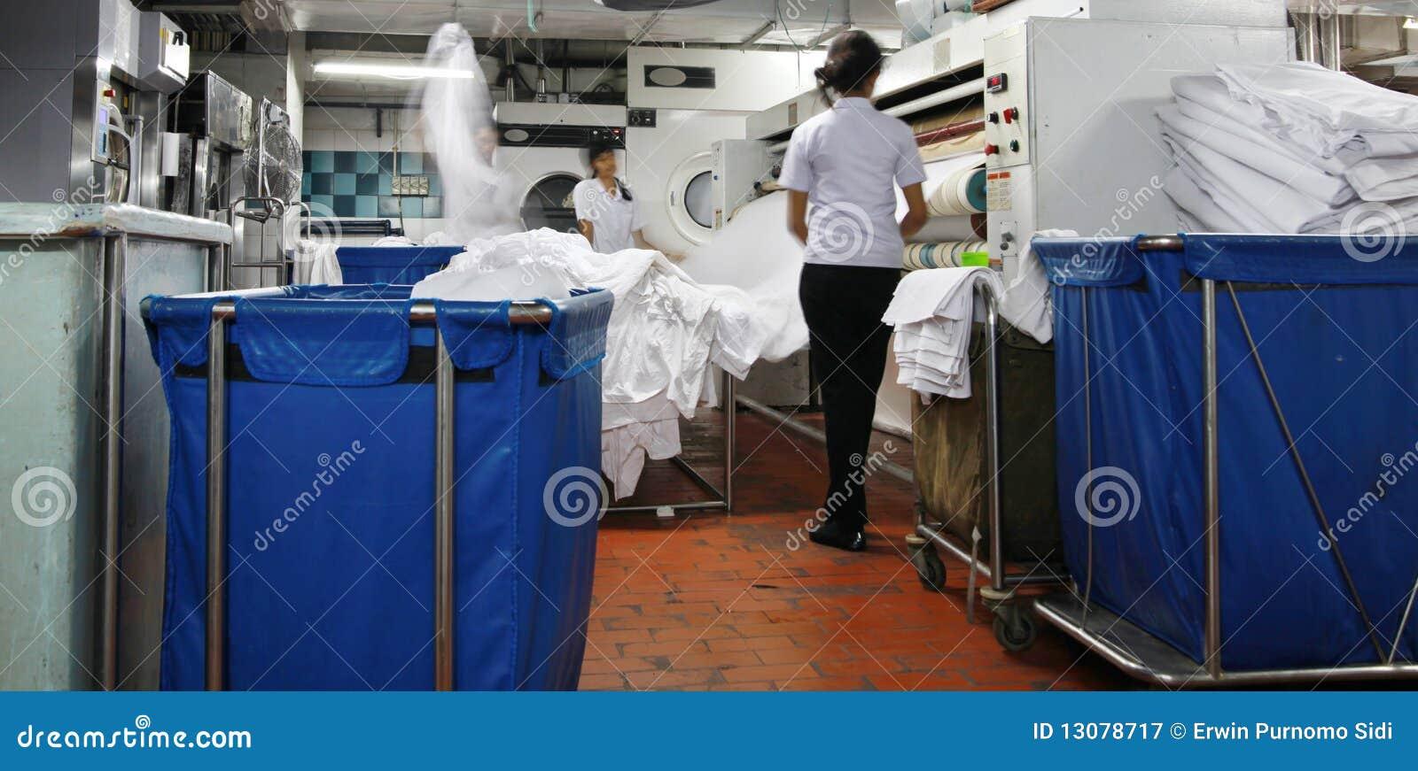 Industrie de blanchisserie