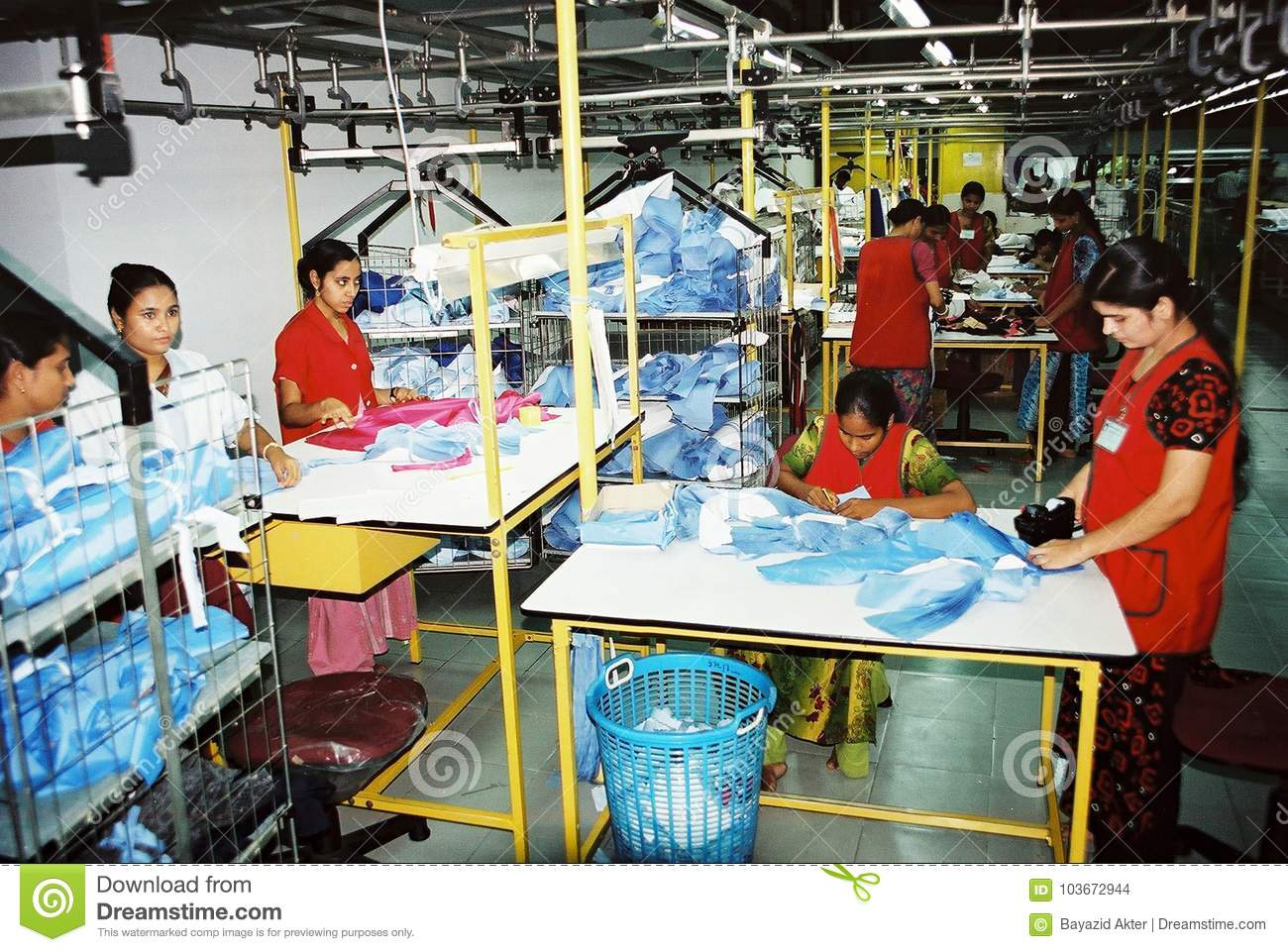 Industrie de vêtements au Bangladesh