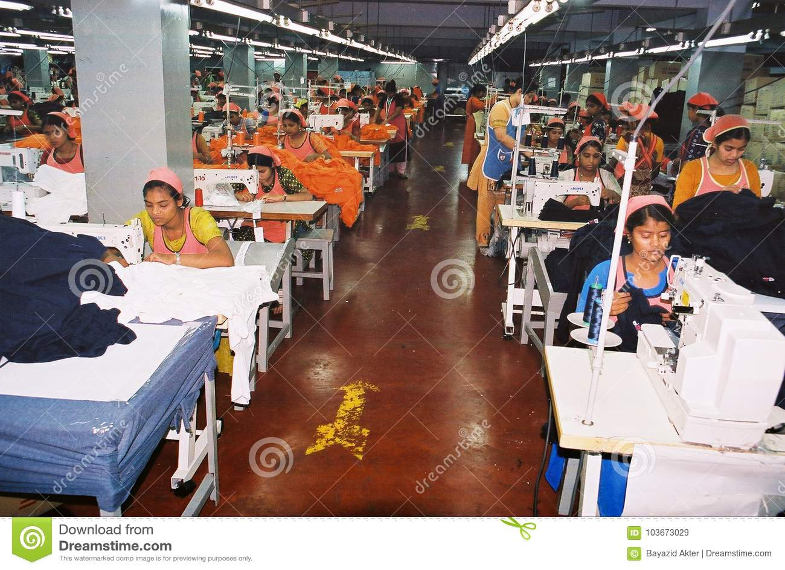 Industrie de vêtements au Bangladesh