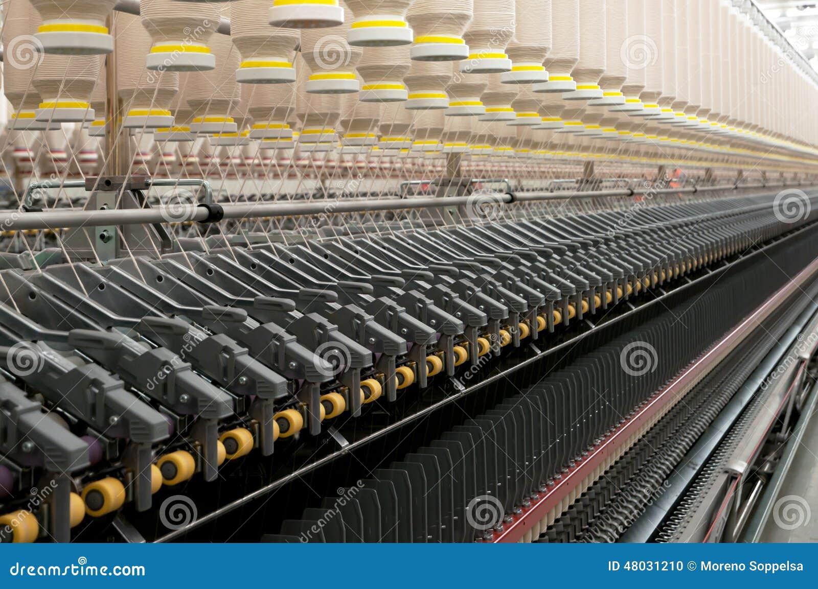 Industrie textile - tournant
