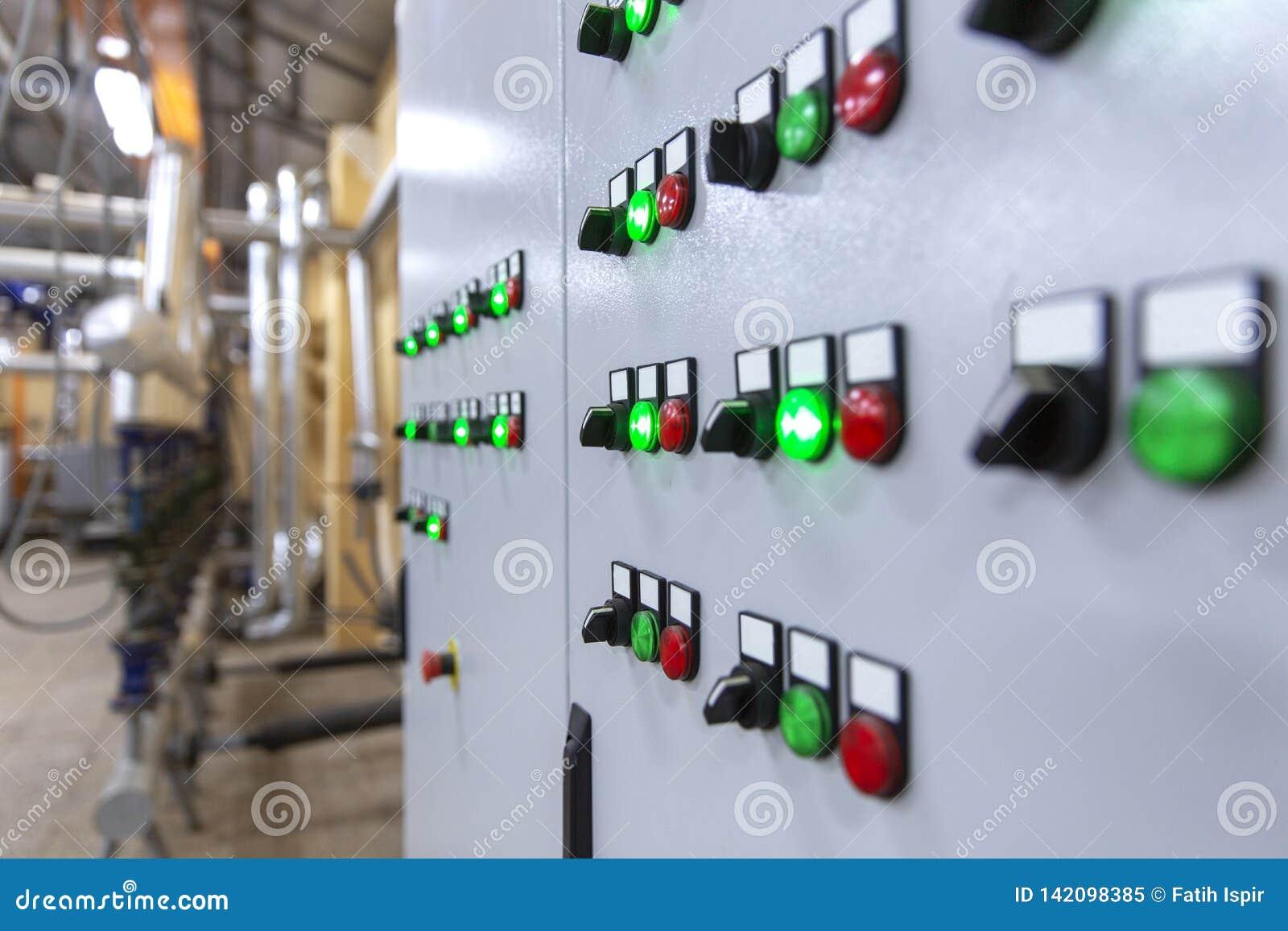 Industrieel controlebord