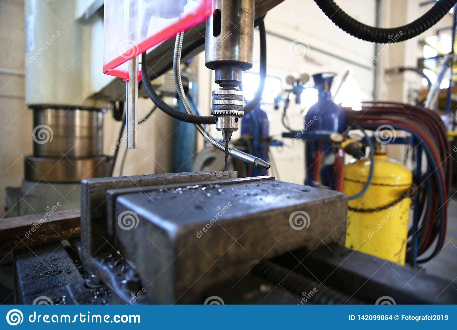 Industriel A Lathe Machine