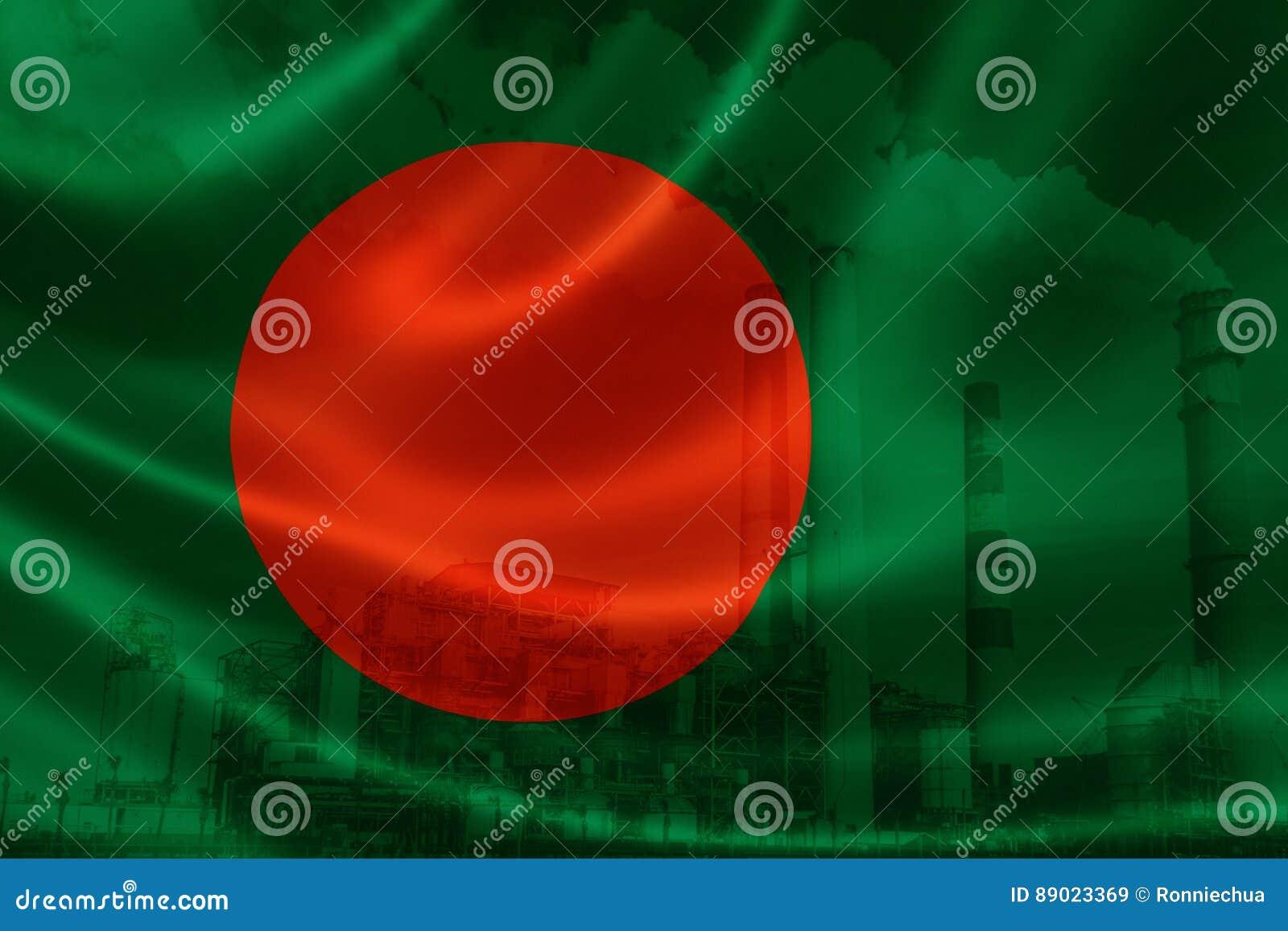 Industriell förorening i Bangladesh