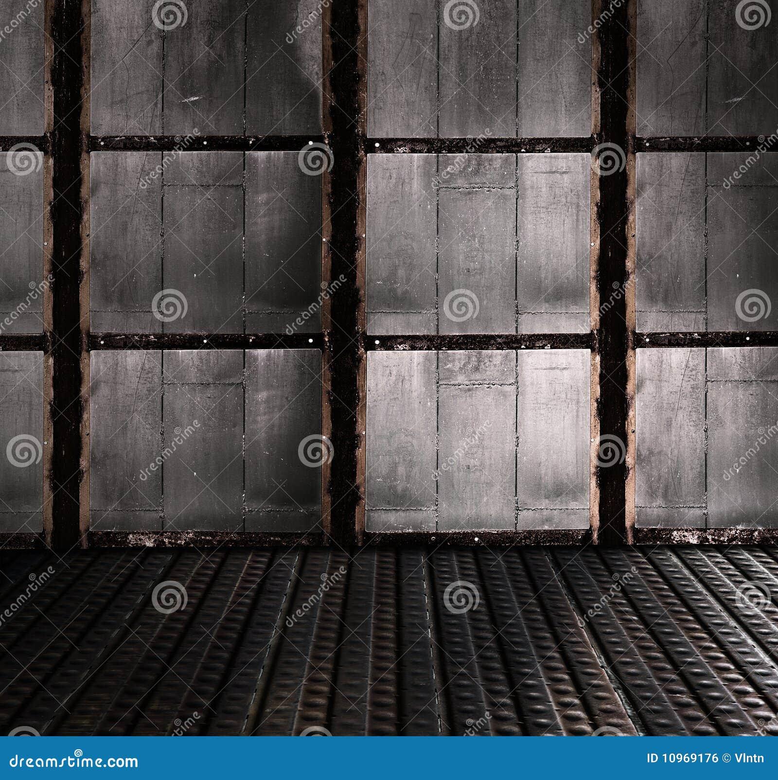 Industriell interior