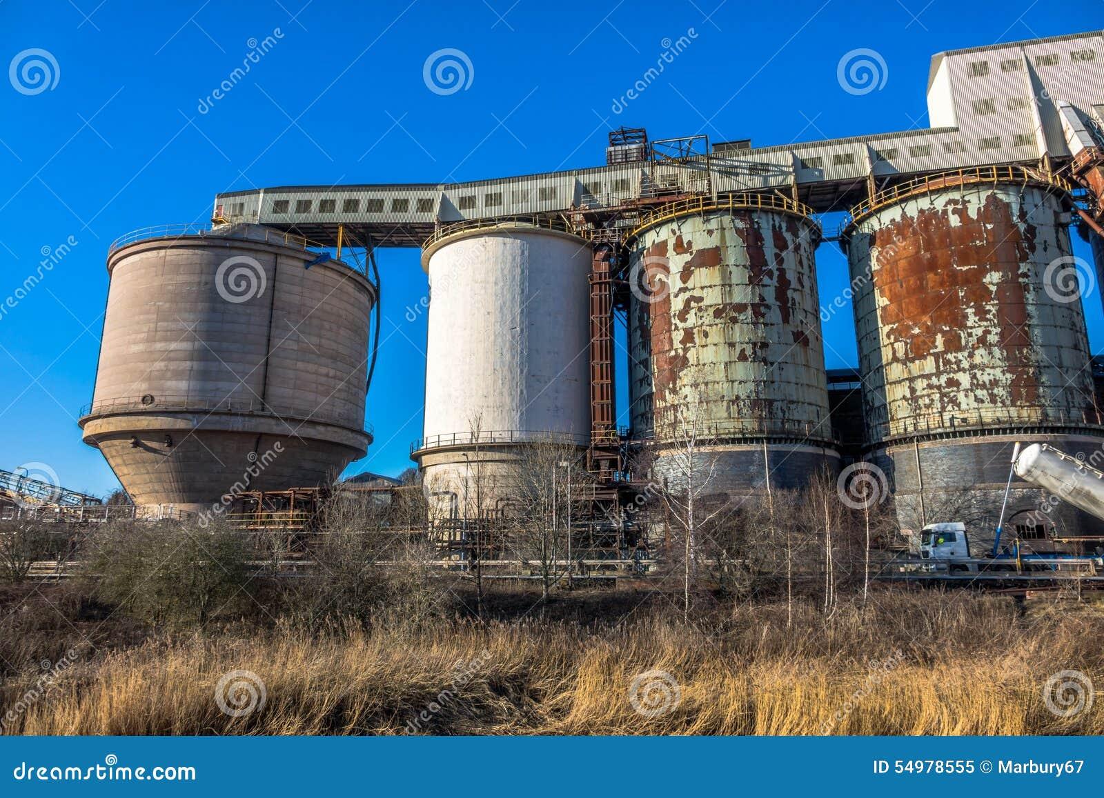 Industriell kemisk växt