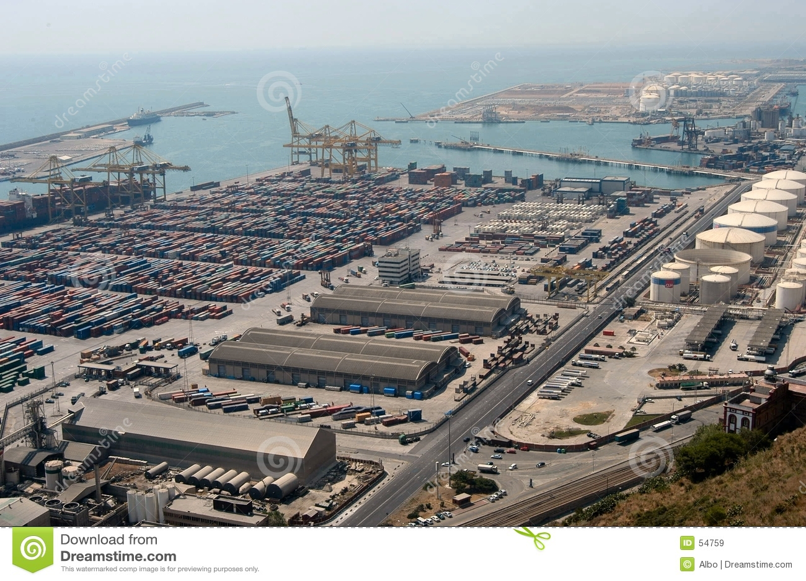 Industriell seaport