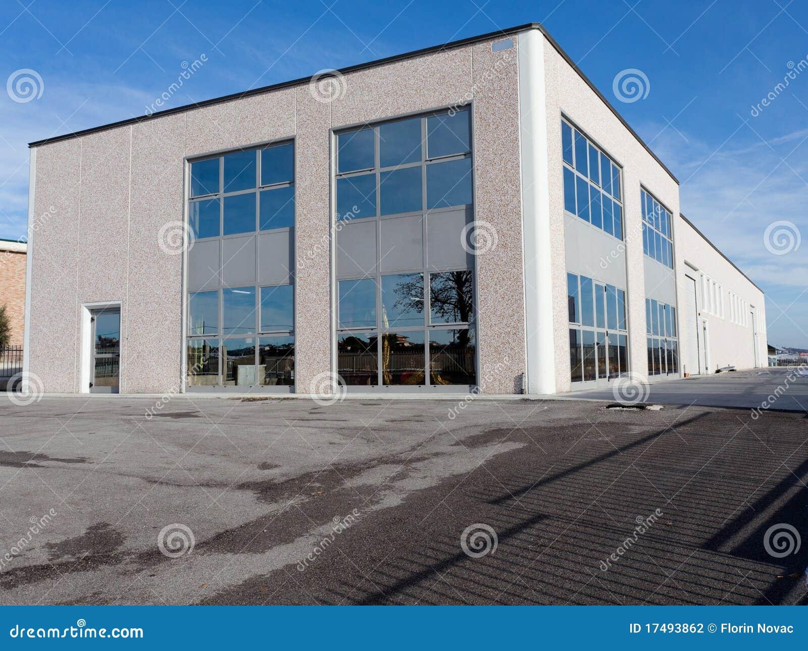 Industriell utvändig sikt för korridor