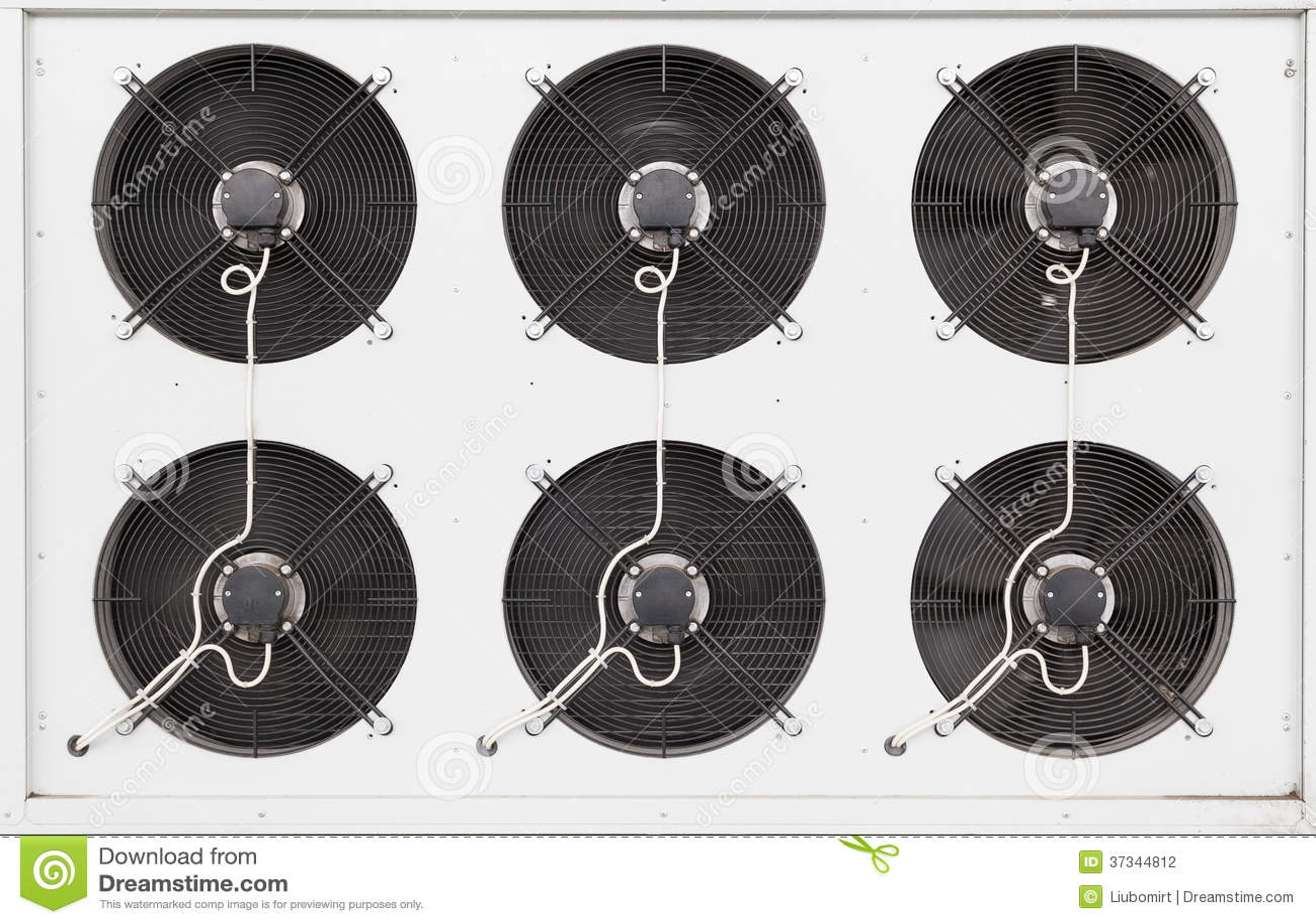 Industriella luftkonditioneringsapparatfans