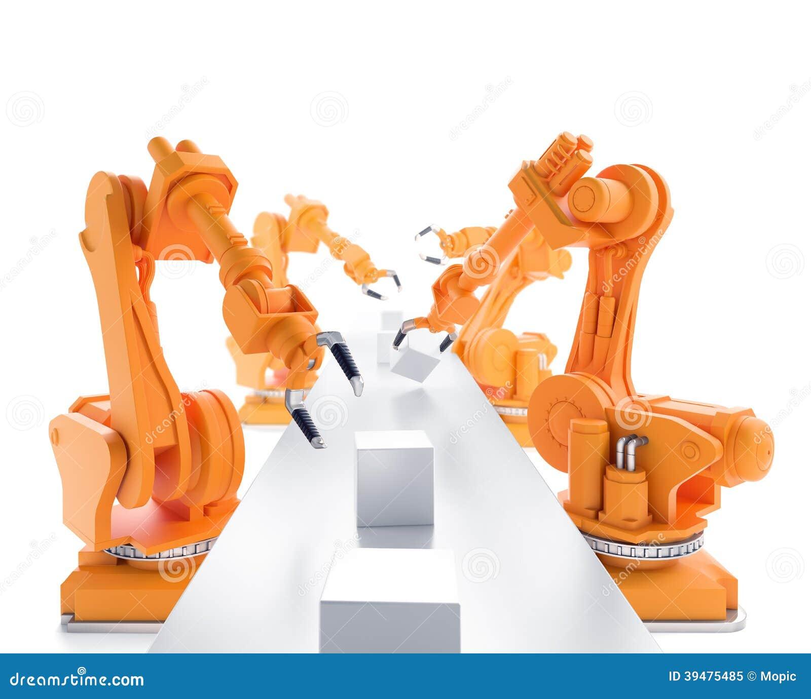 Industriella robotar
