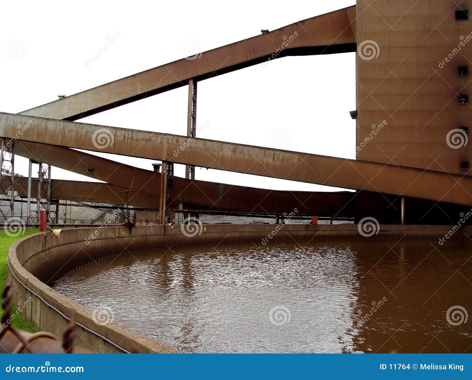 Industrielle Arbeits-Site