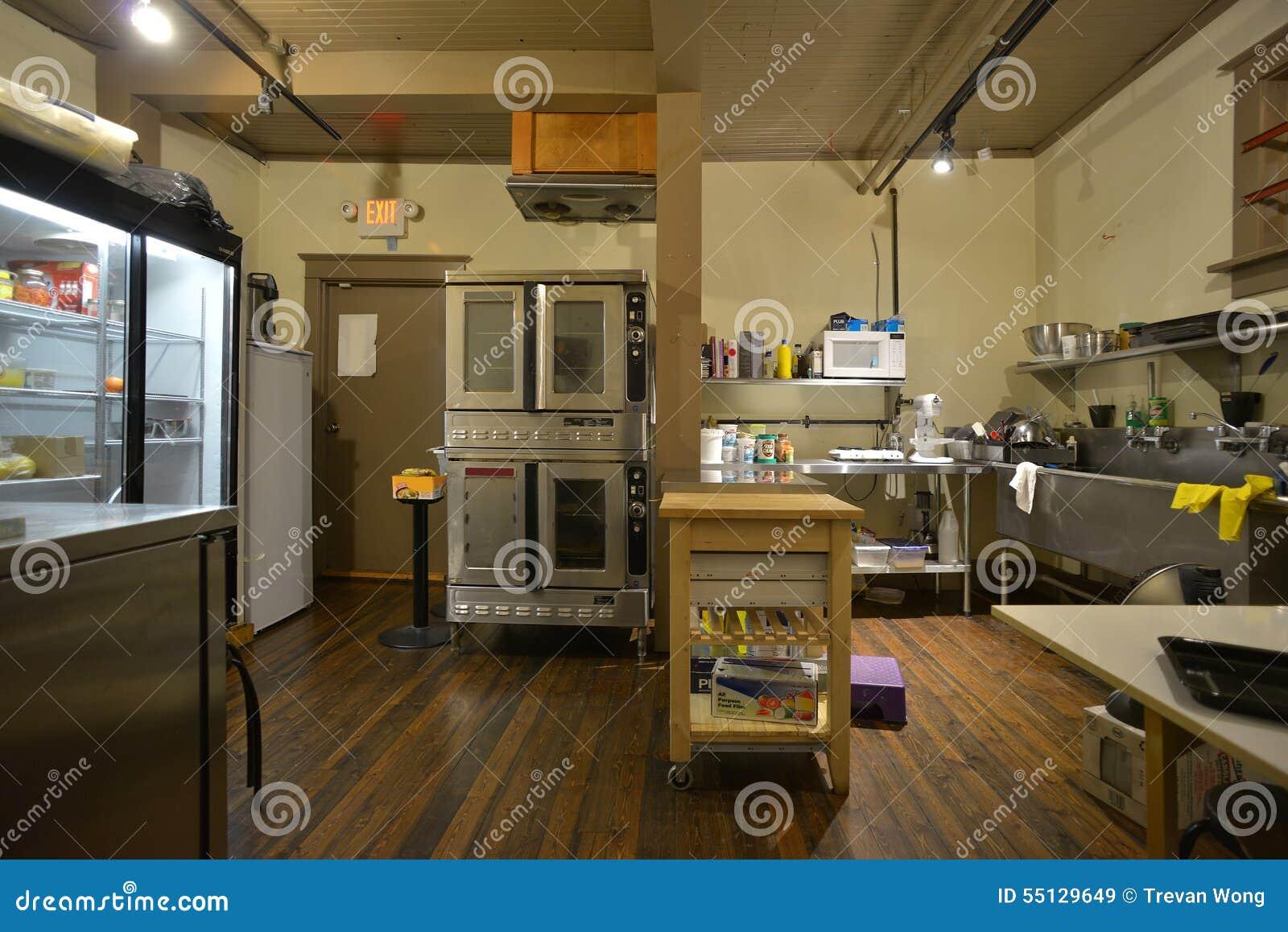 Industrielle Kaffeestubebäckerei und -küche