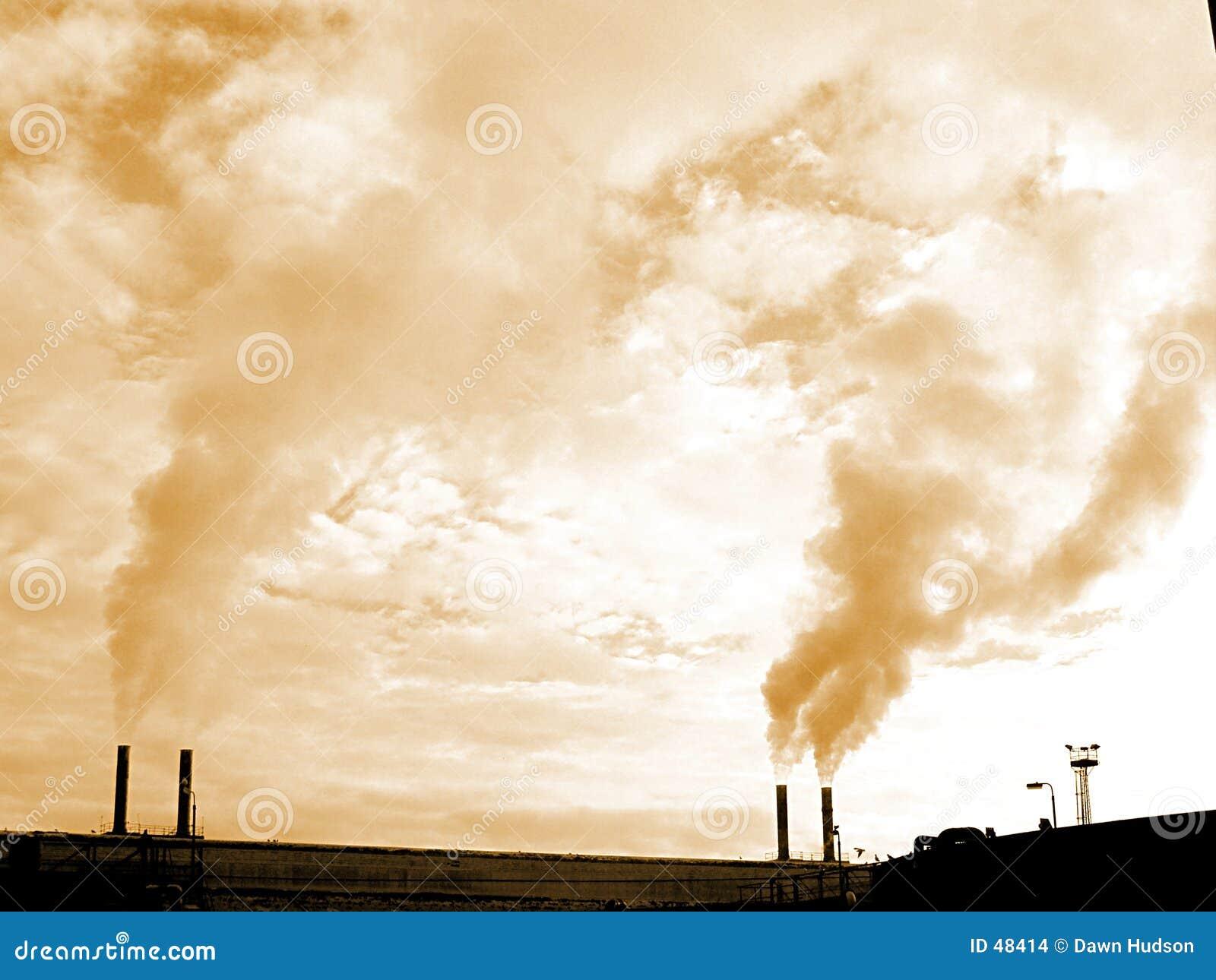 Industrielle Kamine
