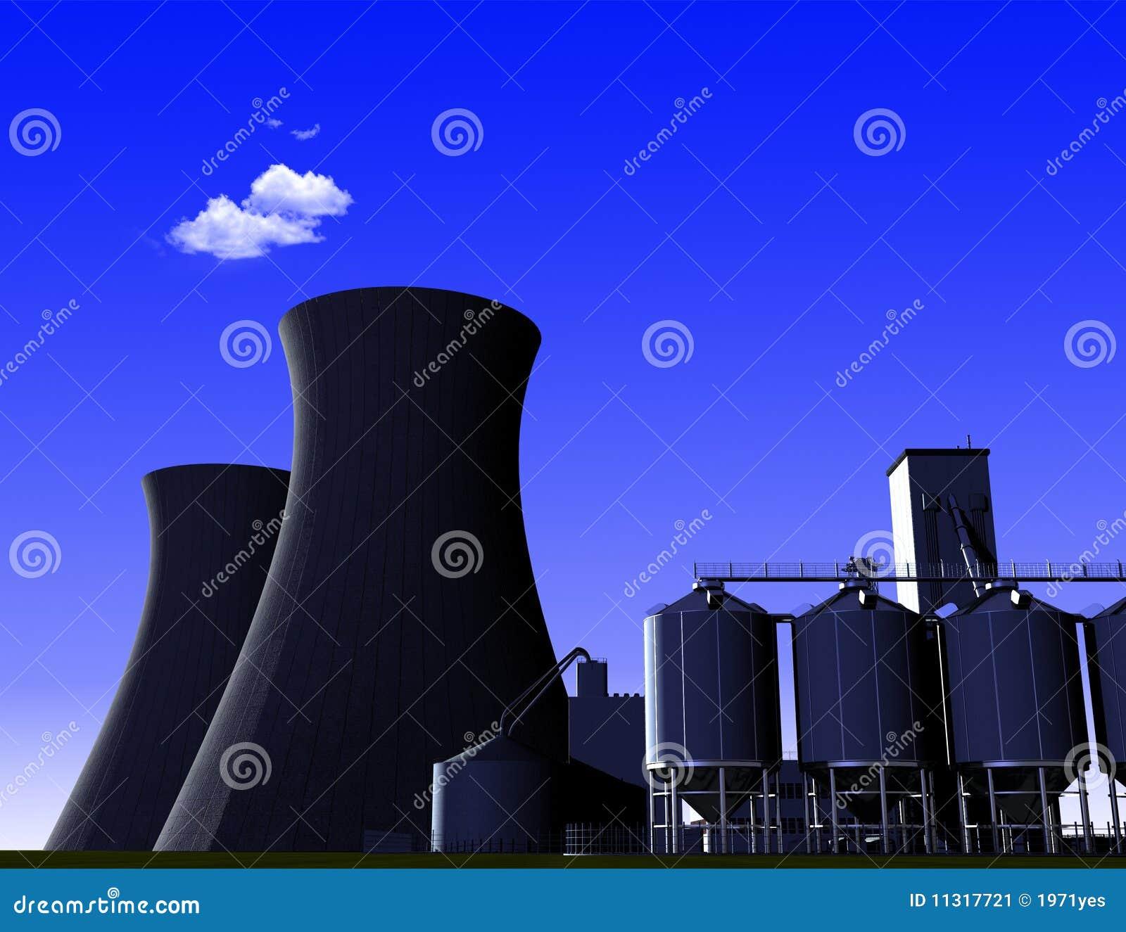 Industrielle Struktur