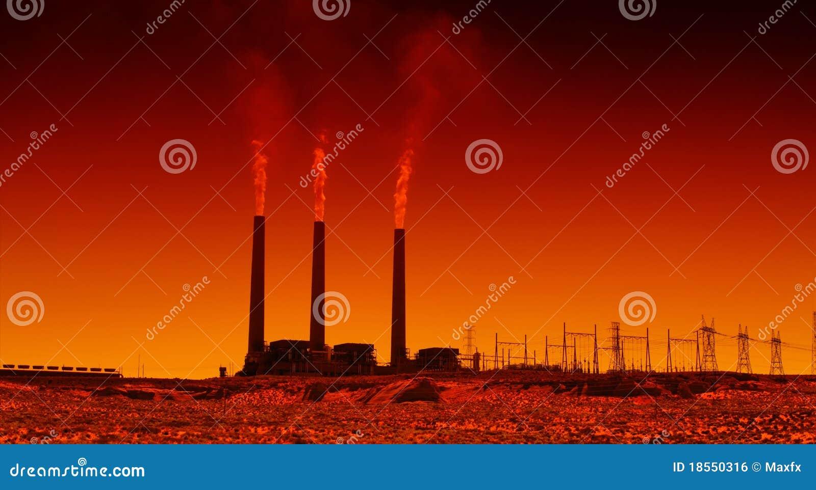 Industrielle Triebwerkanlage