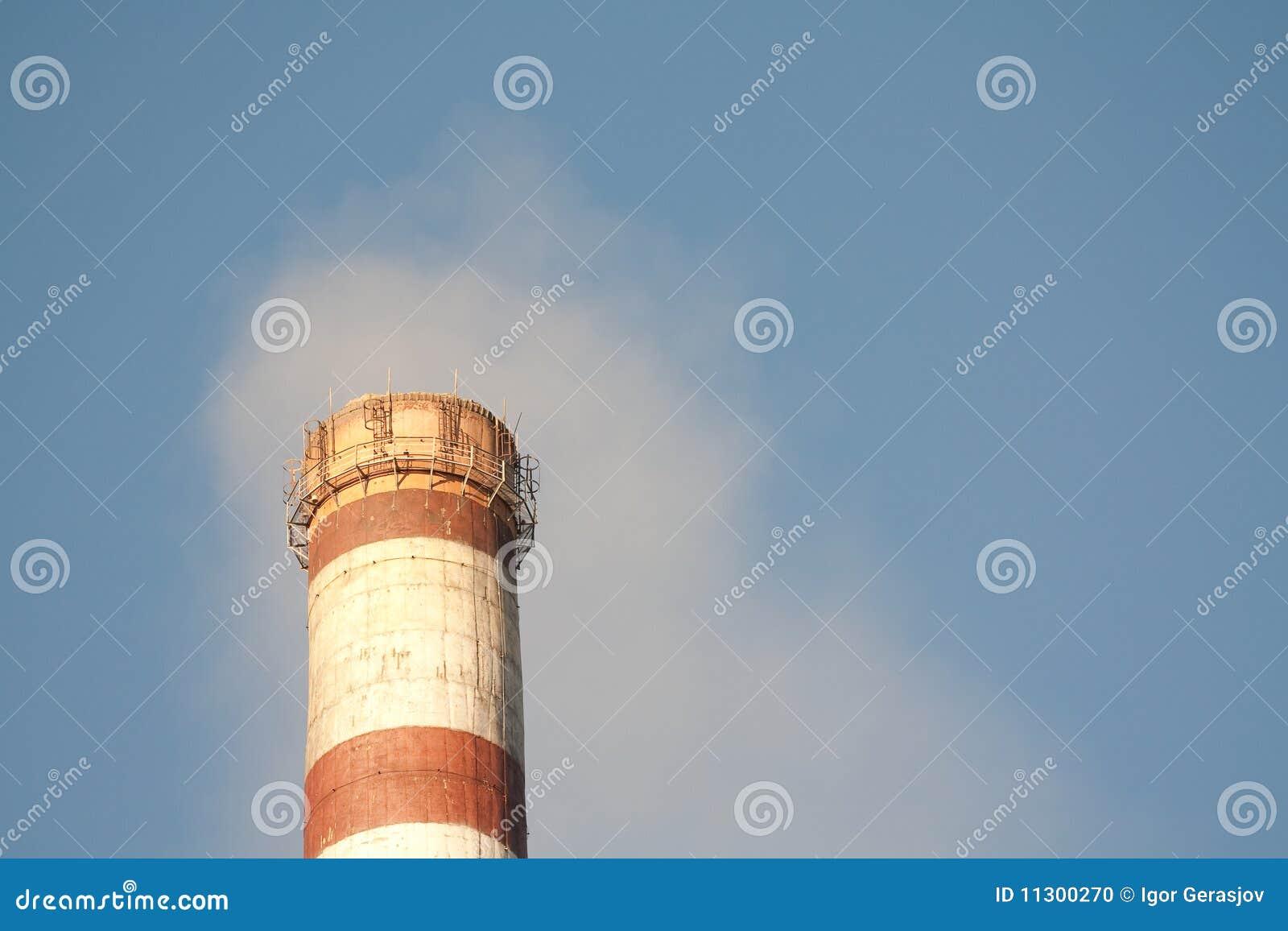 Industrielle Verunreinigung der Luft