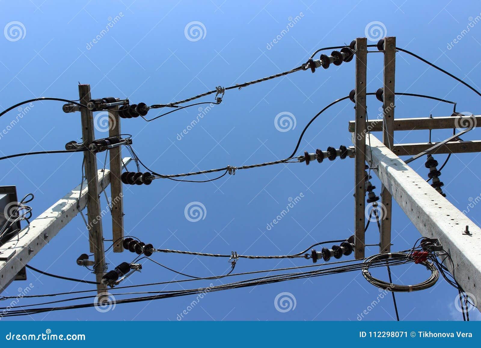 Industrieller elektrischer Hintergrund