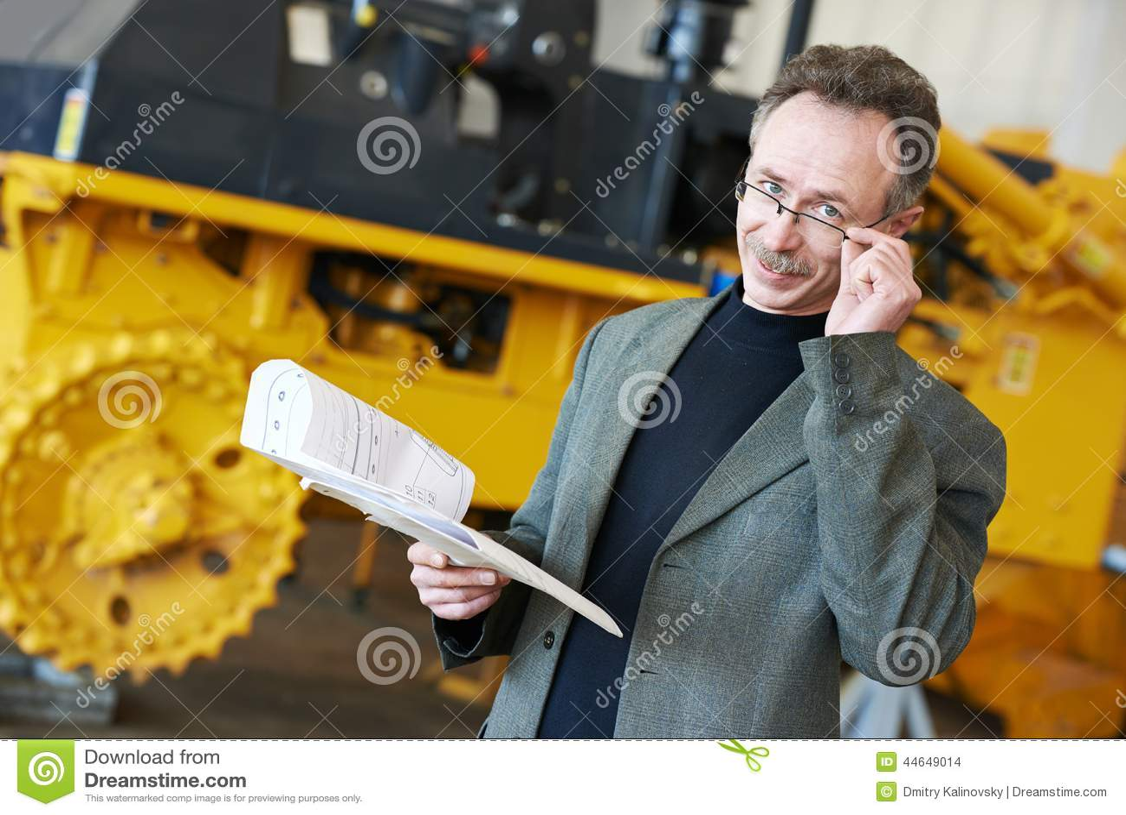 Industrieller ingineer Manager