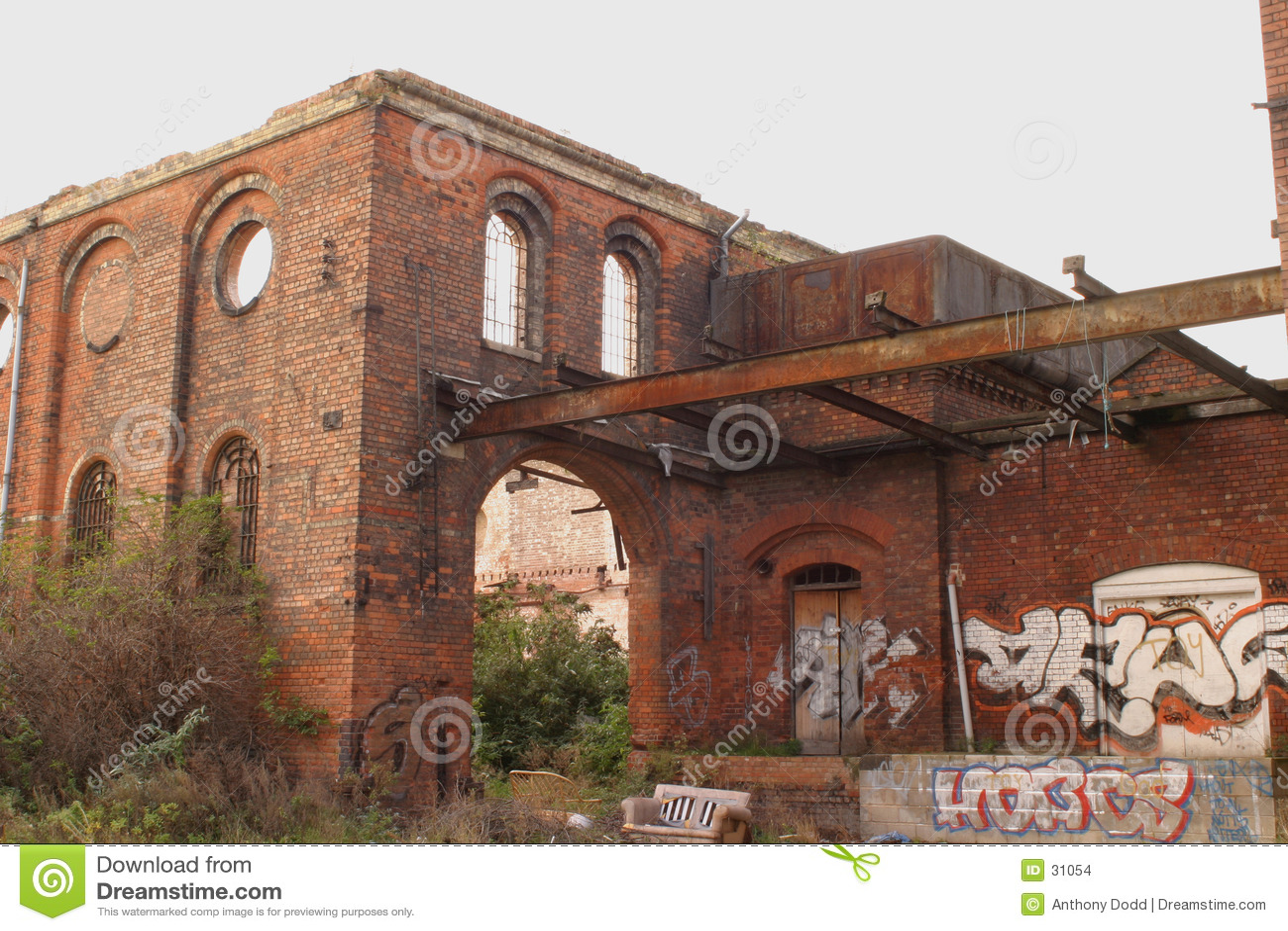 Industrielles Grafetti