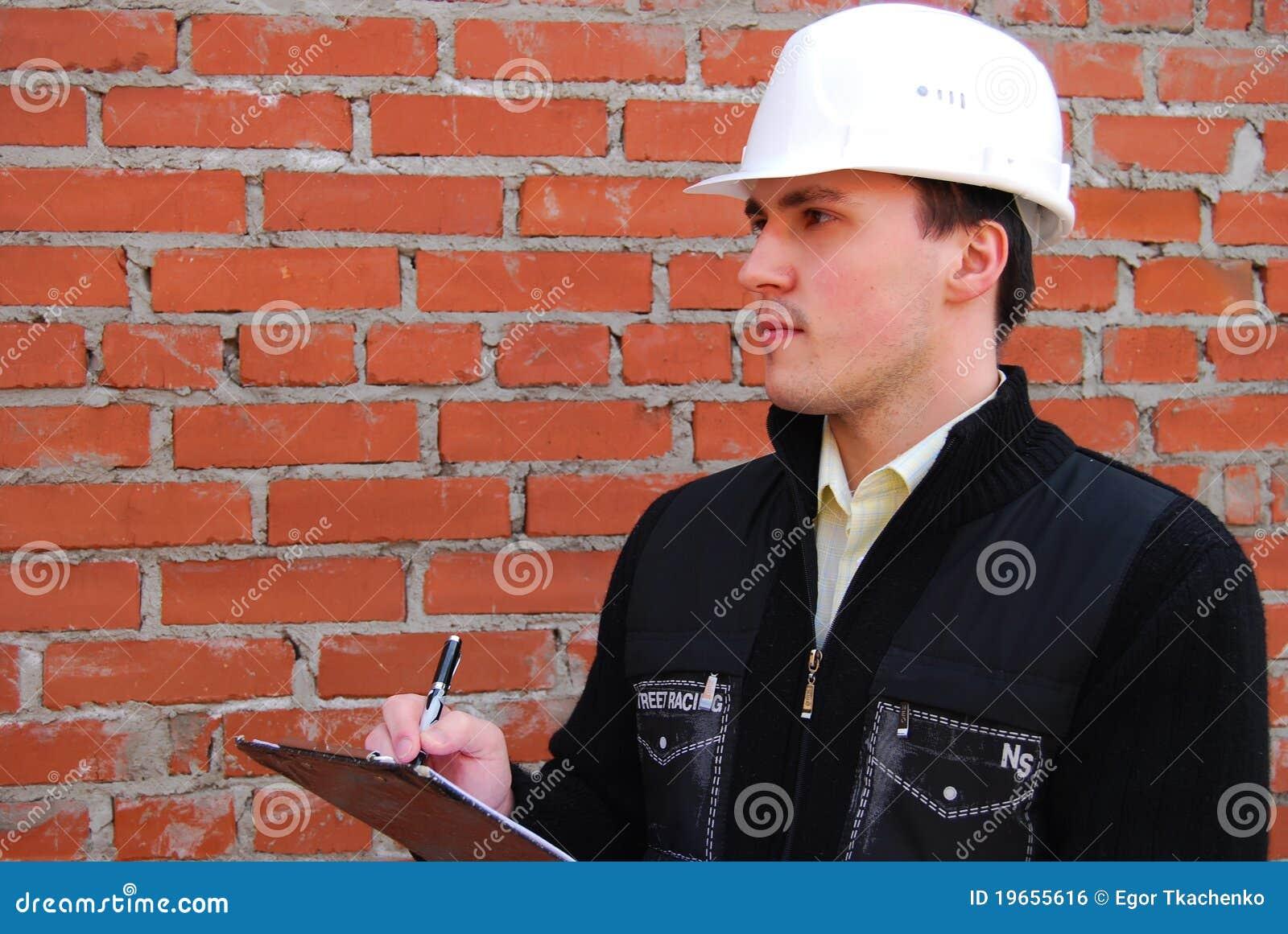 Industrielles Thema: Architekt.