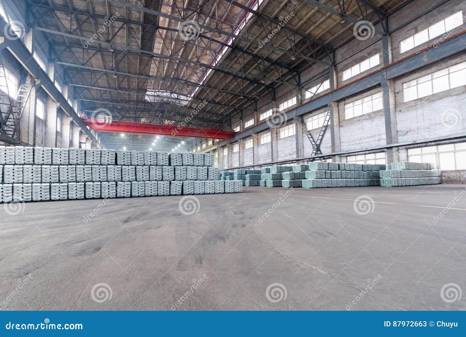Industriellt färdigt - produktlager