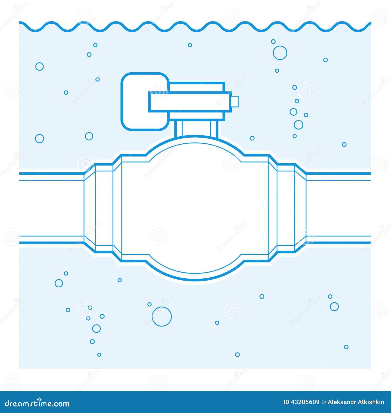 Download Industriellt klapp vektor illustrationer. Illustration av plumb - 43205609