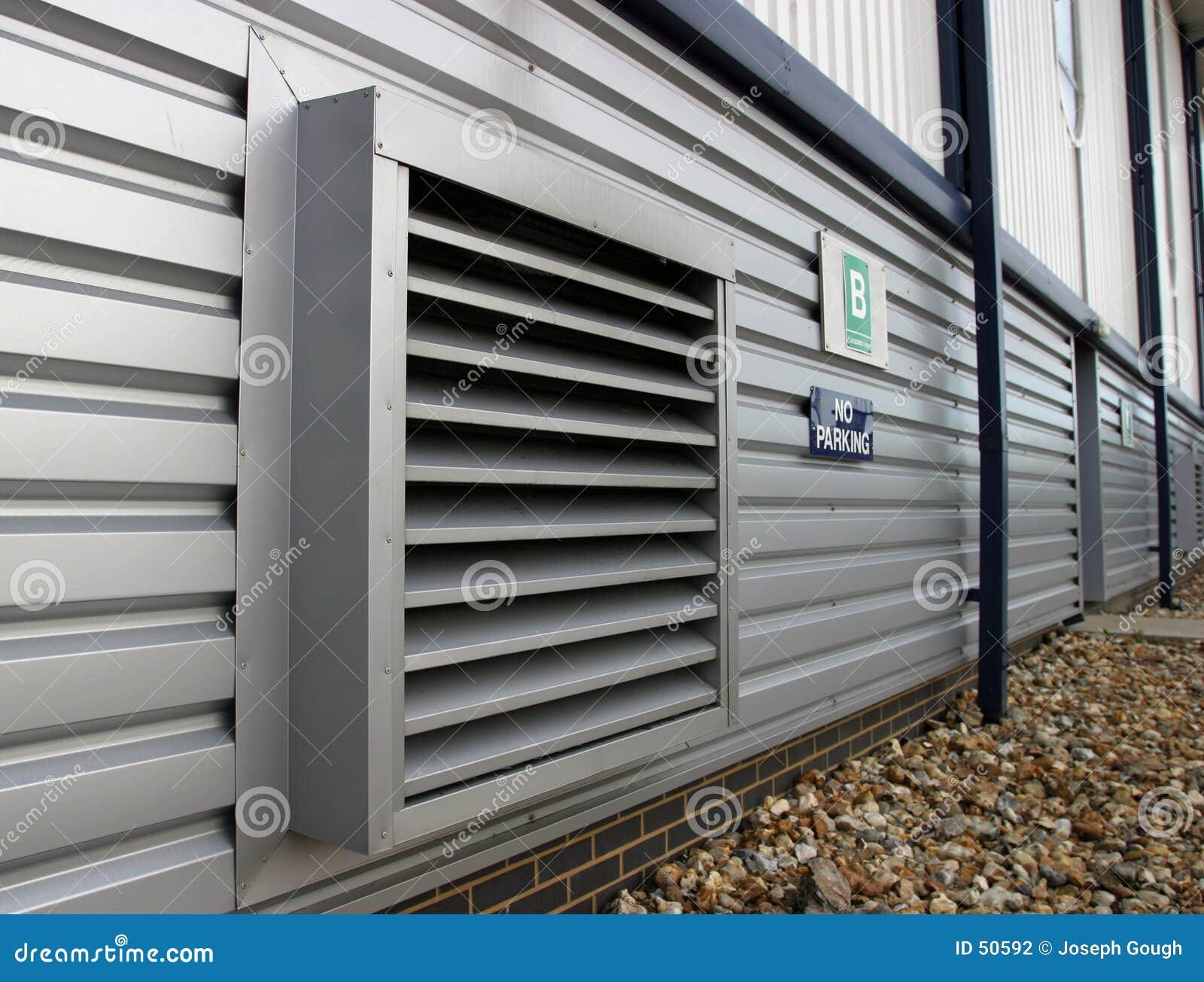 Industriellt lufthål för luft
