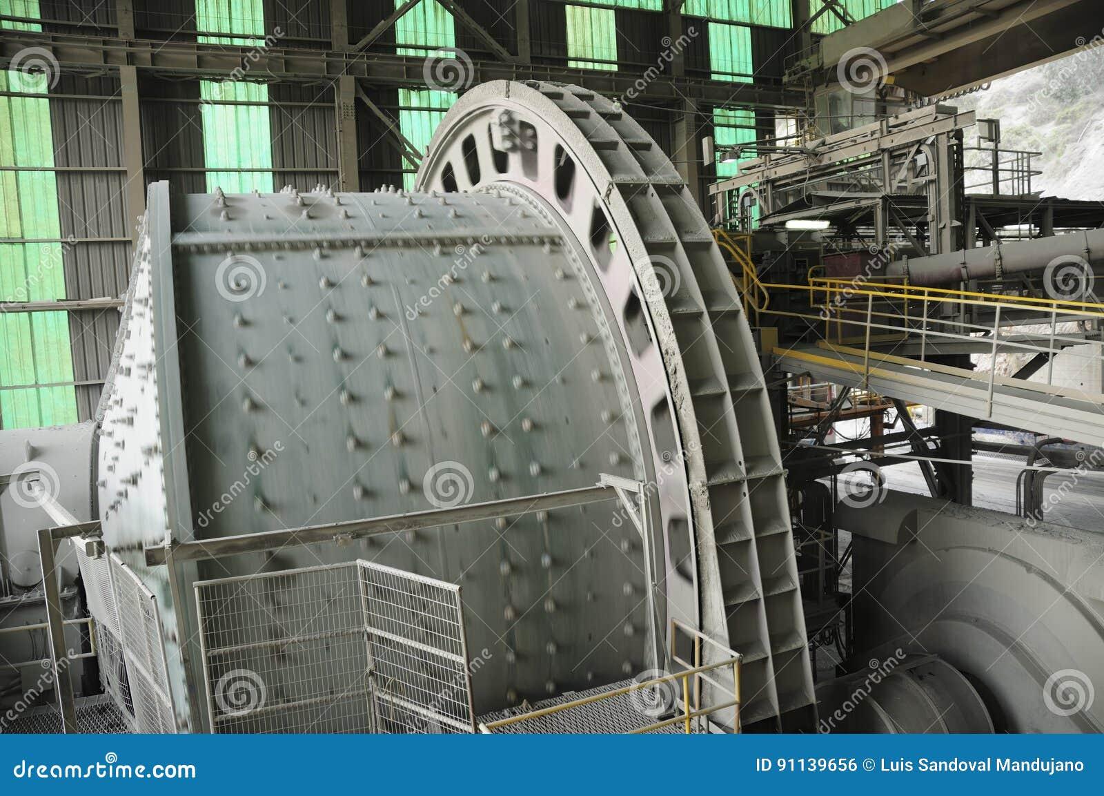 Industriellt maskineri - bollen maler