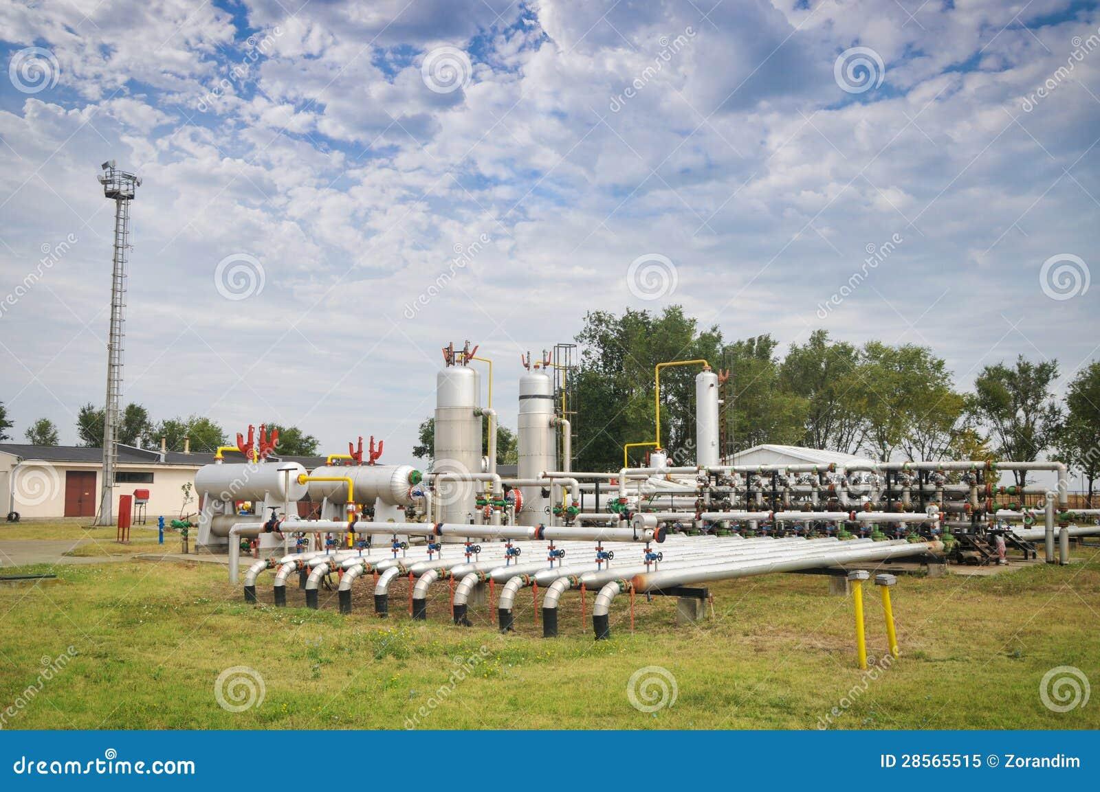Industries du raffinage et du gaz de pétrole