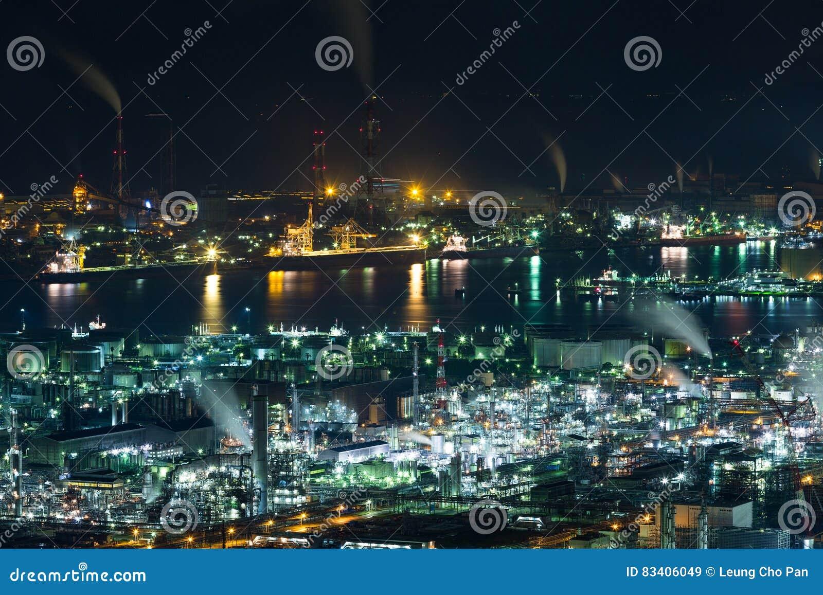 Industry factory in Japan