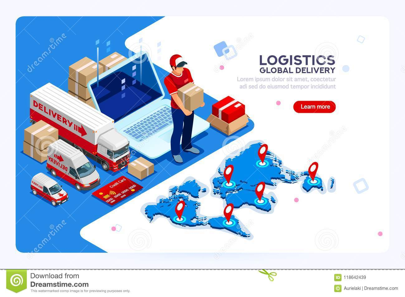 Industry of Shipment and Web Delivery